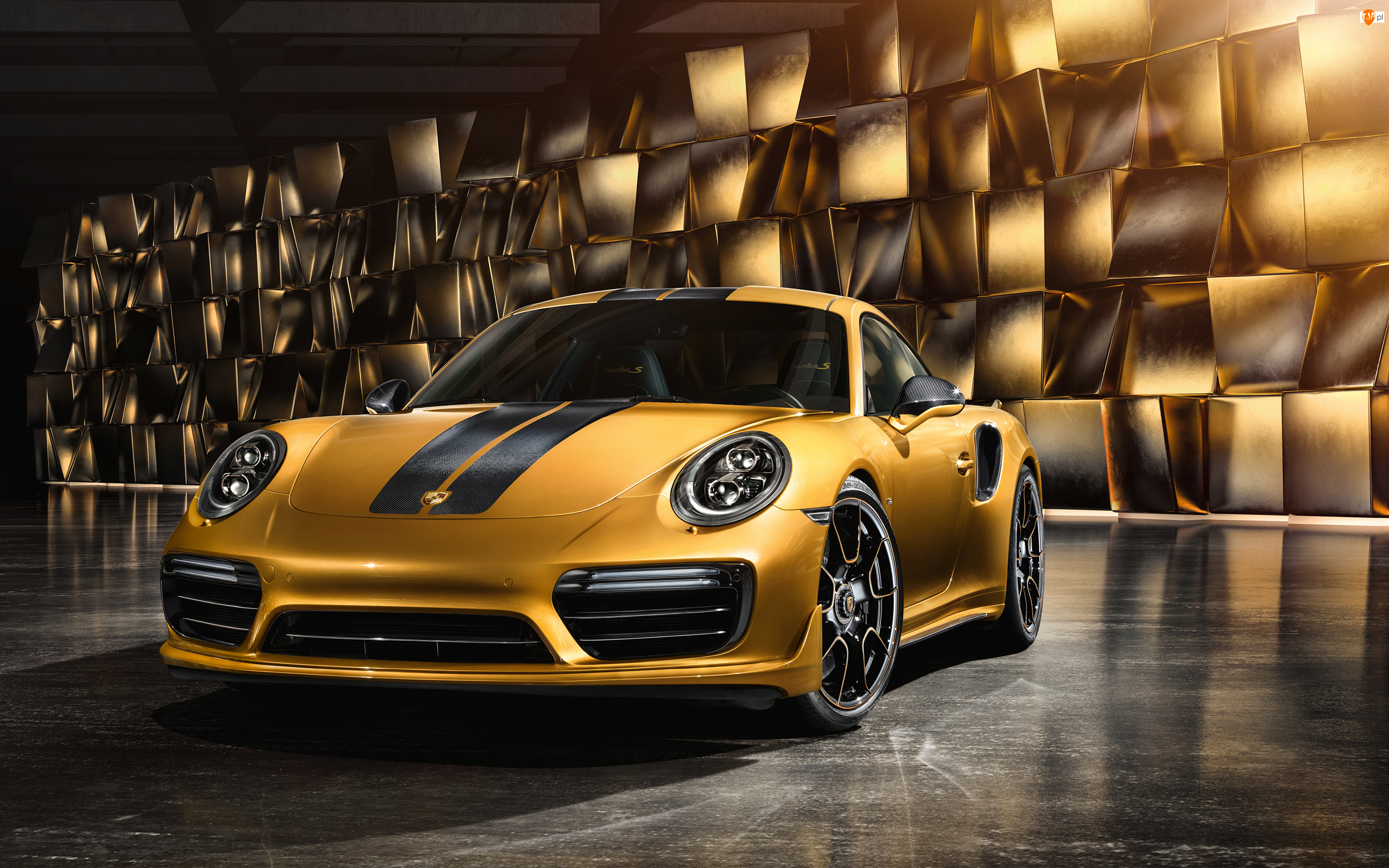Przód, Porsche 911 Turbo S Exclusive Series, 2018