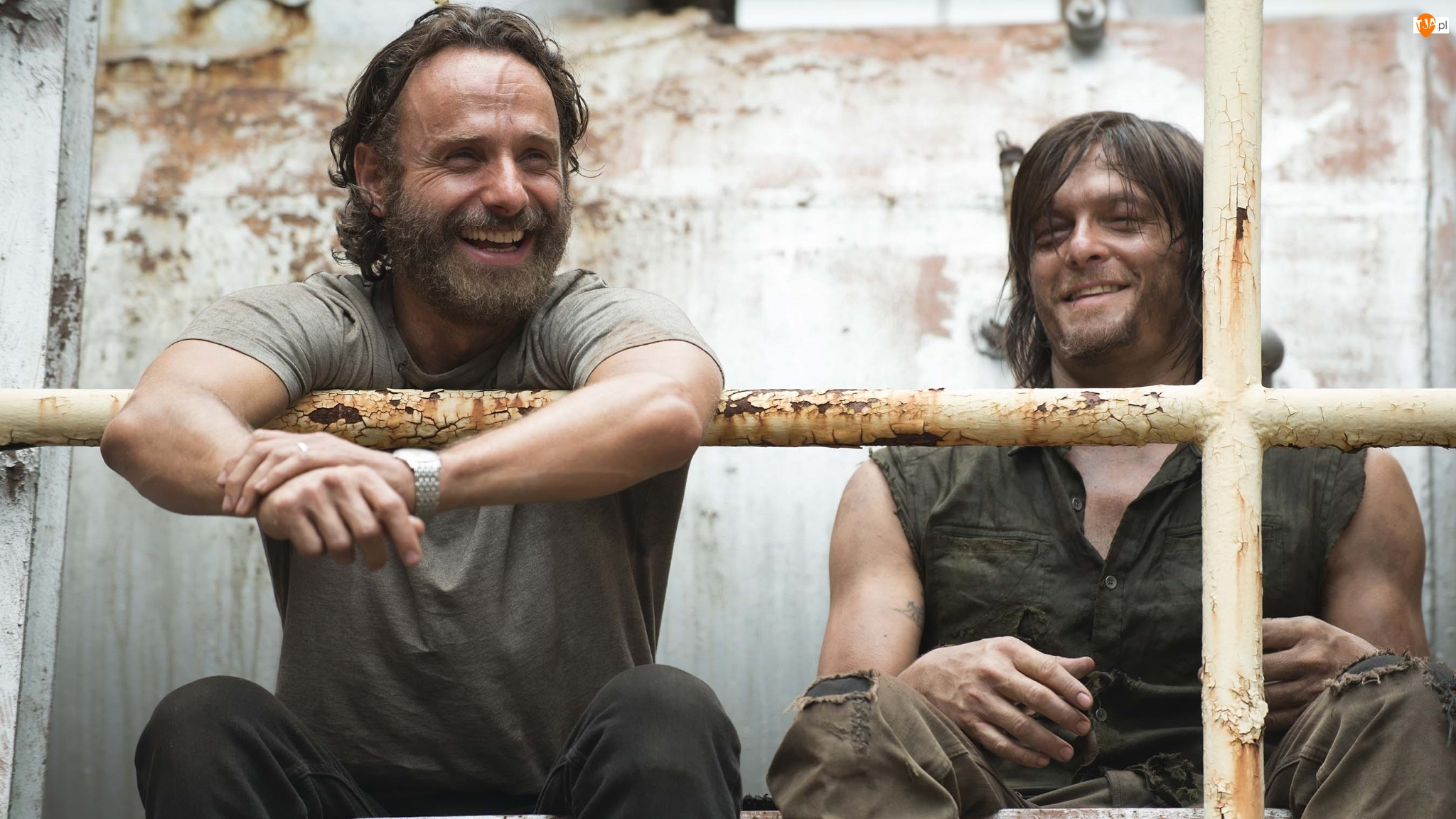 Aktorzy, Serial, Rick Grimes, Andrew Lincoln, Żywe trupy, Daryl Dixon, Norman Reedus, The Walking Dead
