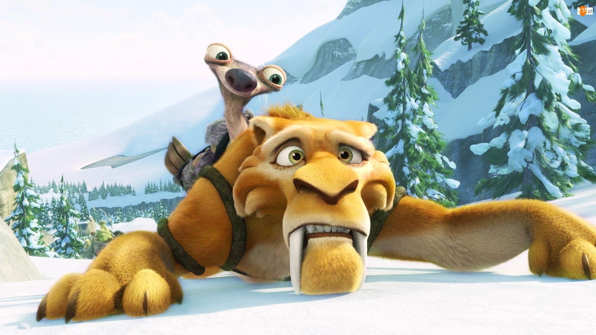 Tygrys, Film, Epoka lodowcowa, Ice Age