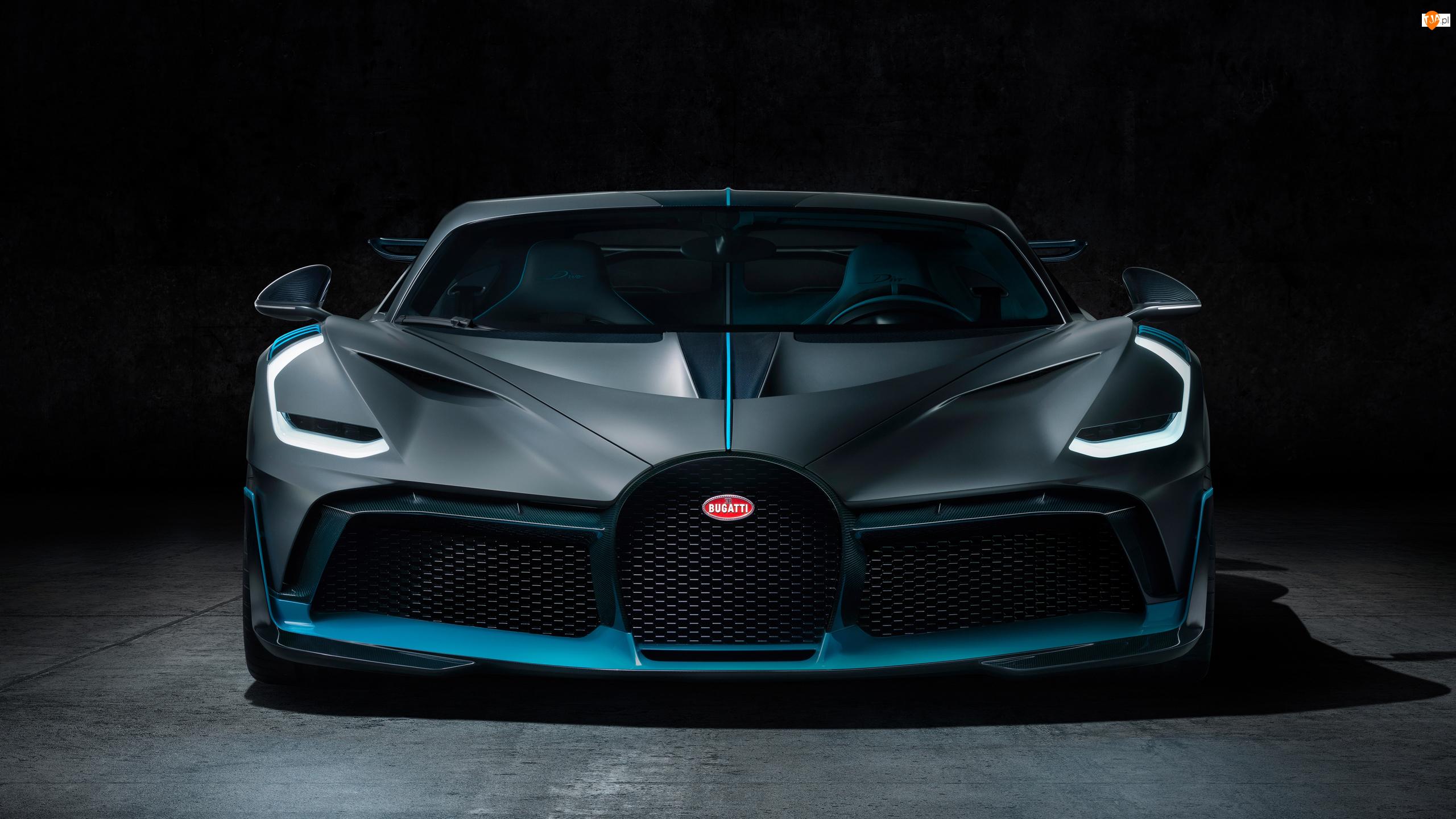 Przód, Bugatti Divo