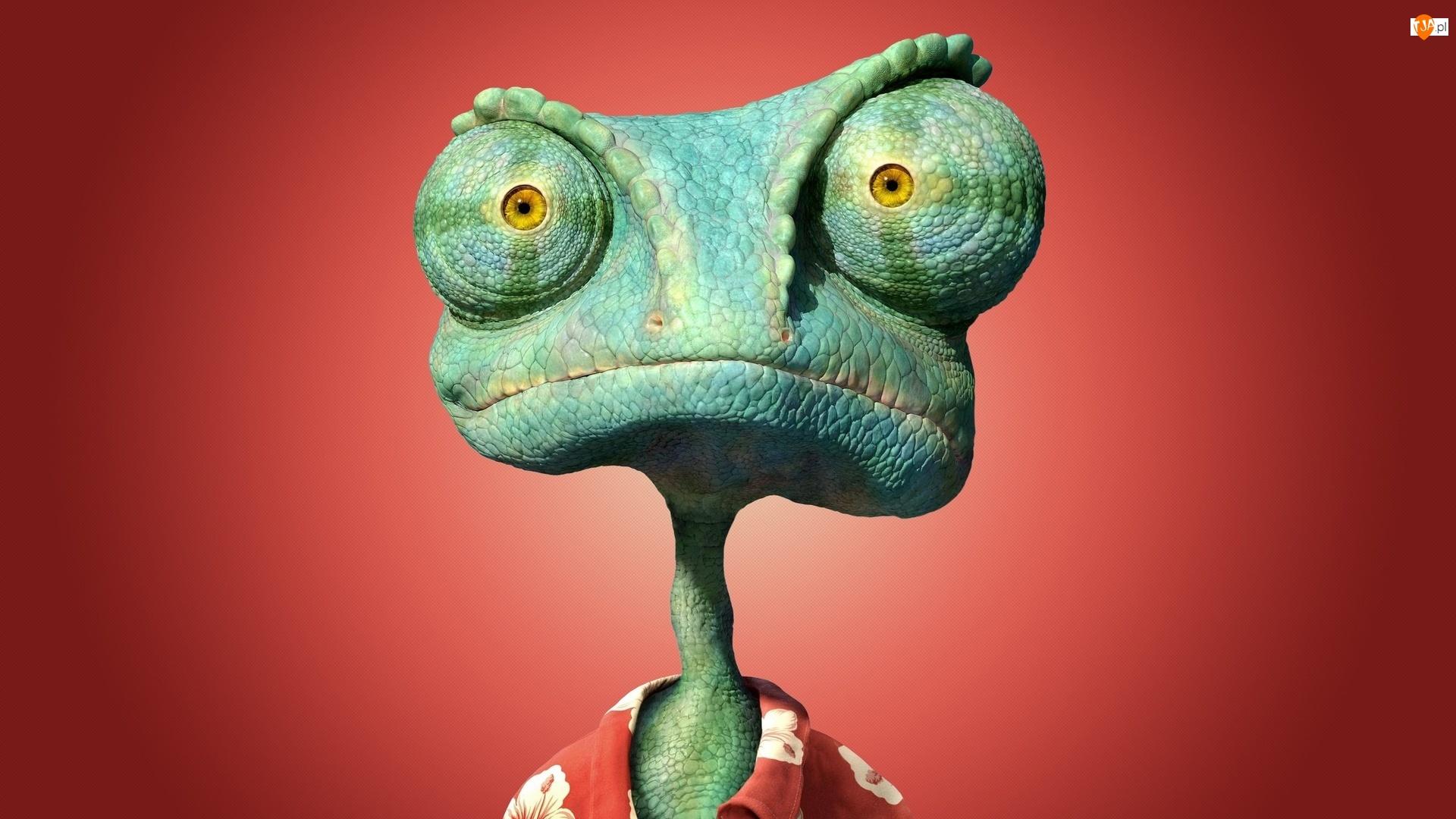 Śmieszne, Kameleon, Film animowany, Rango