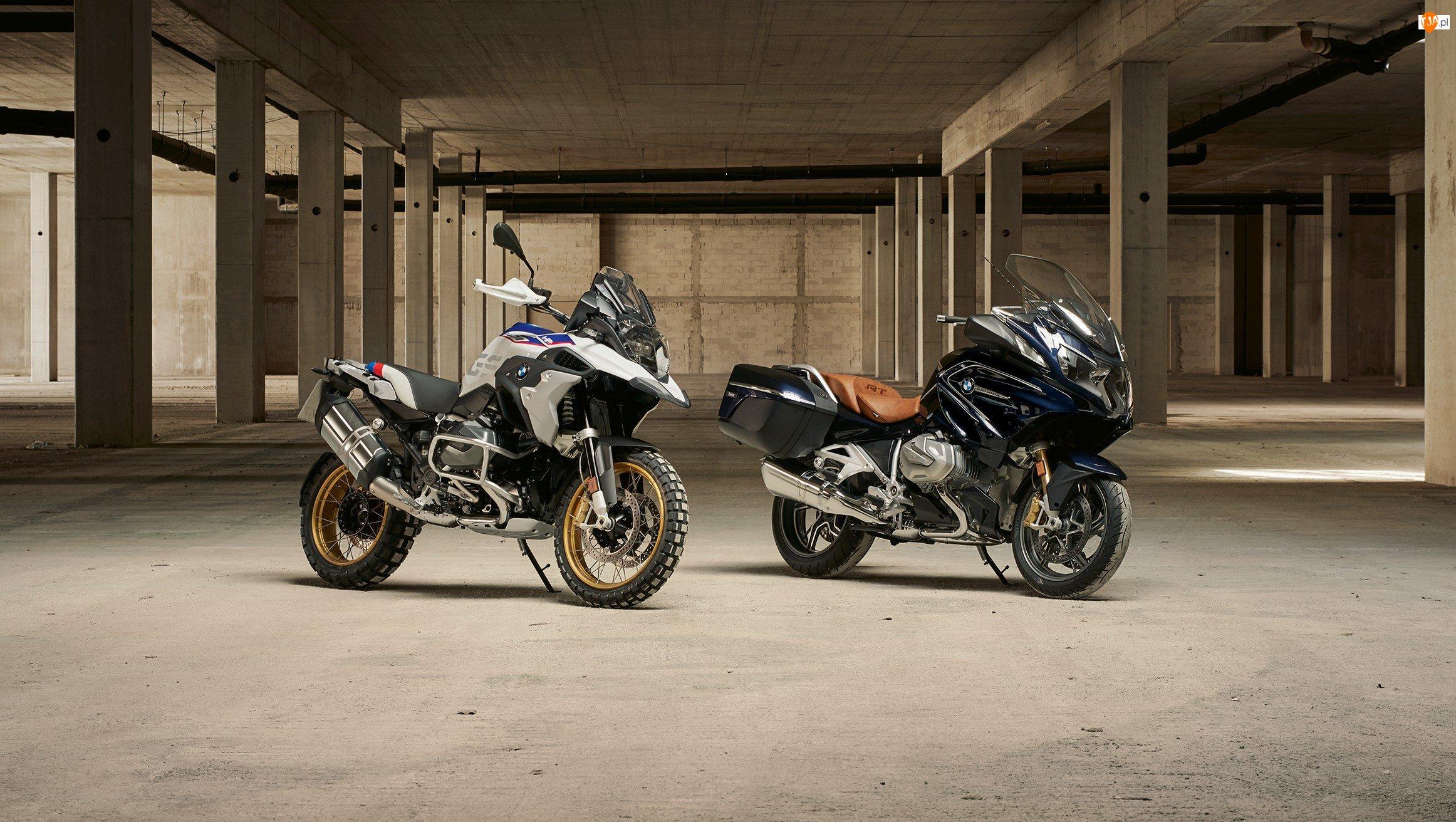 BMW R 1250 GT, Dwa, Motocykle, BMW R 1250 GS