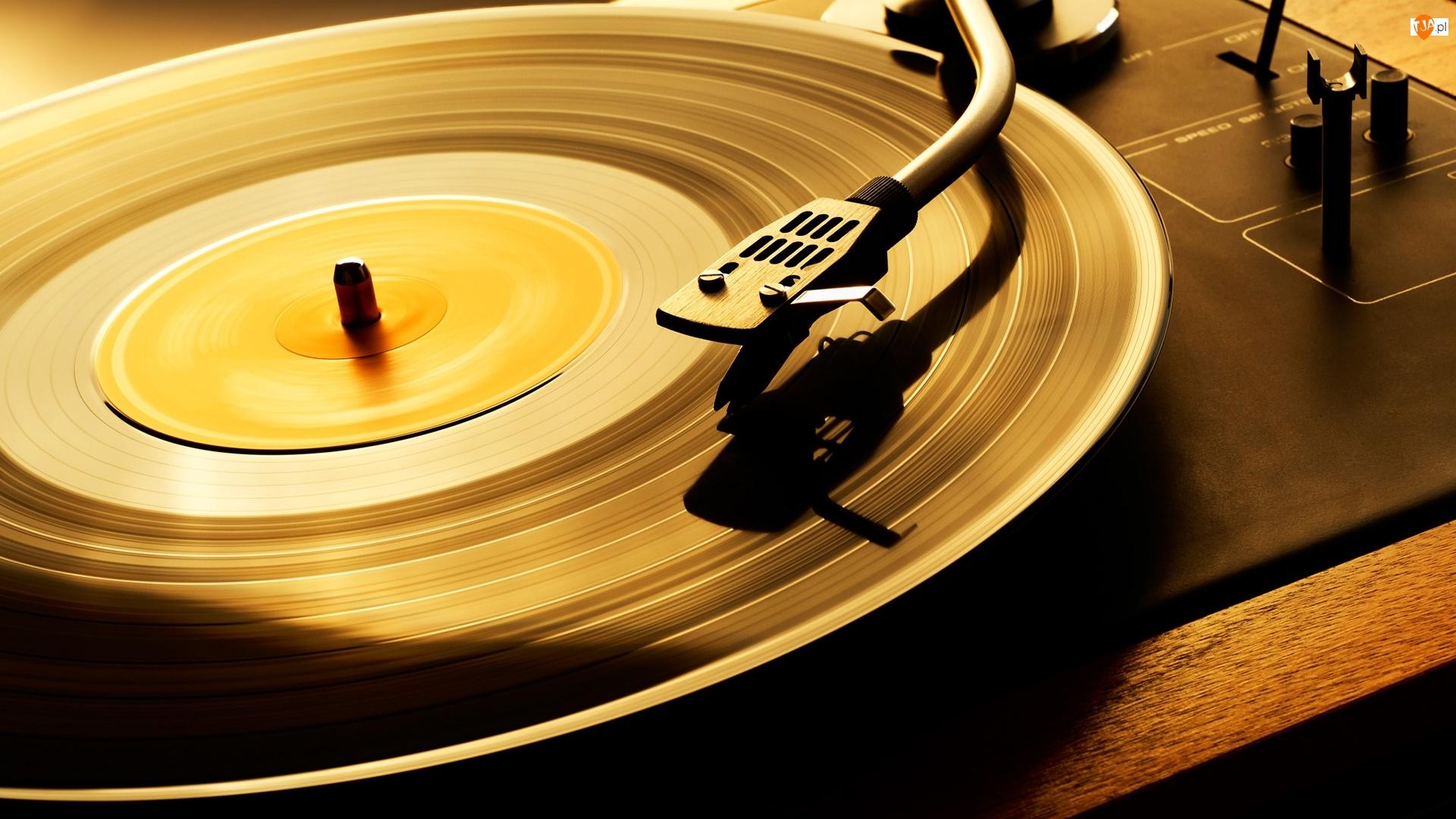 Płyta gramofonowa, Muzyka, Gramofon