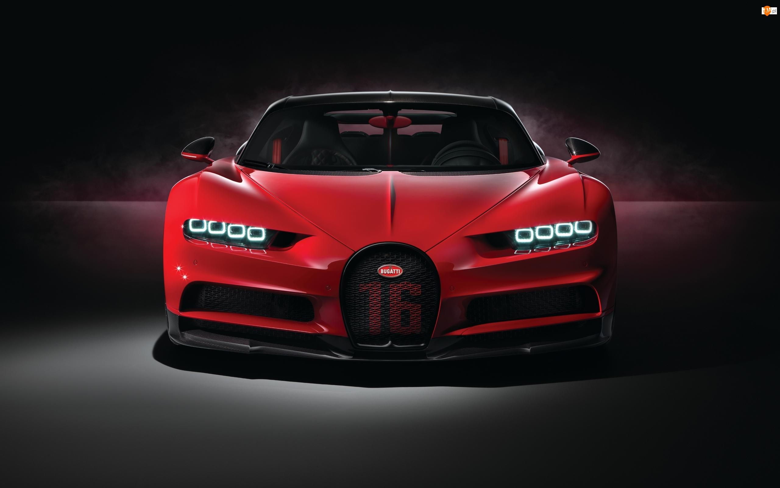 Bugatti Chiron Sport, Czerwony