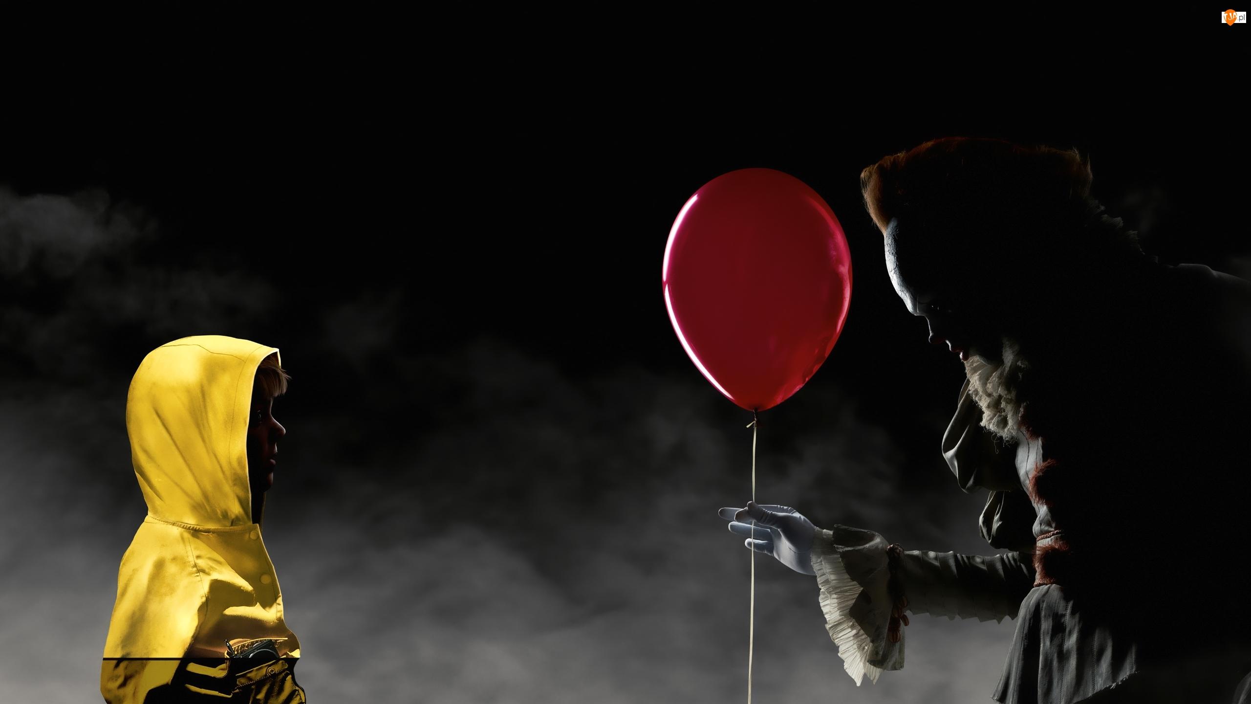 To, Film, Klaun Pennywise, Balon, It, Dziecko