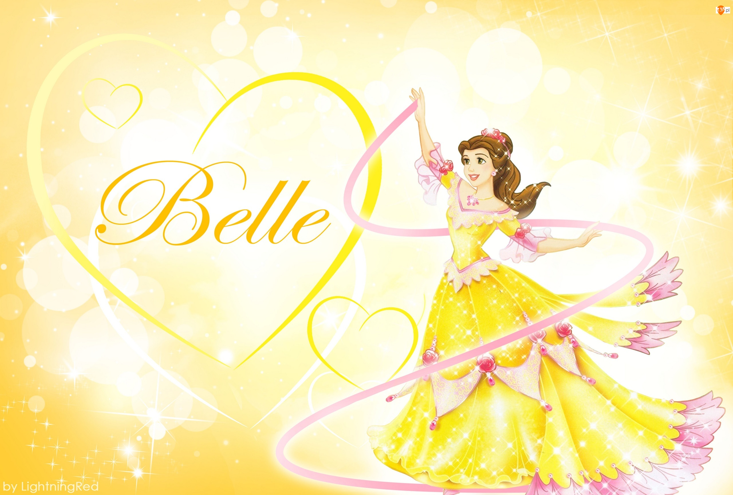 Bella, Beauty and the Beast, Księżniczka, Bajka, Piękna i Bestia
