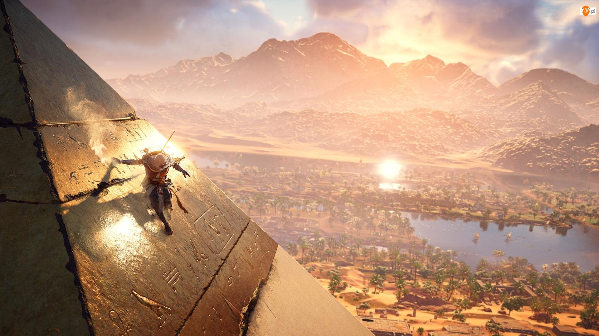 Bayek, Assassins Creed : Origins, Piramida