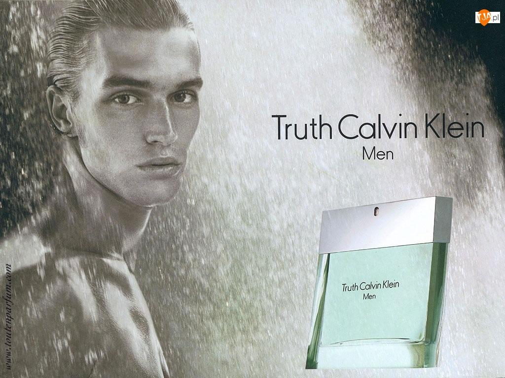 men, mężczyzna, Calvin Klein, flakon, truth, perfumy