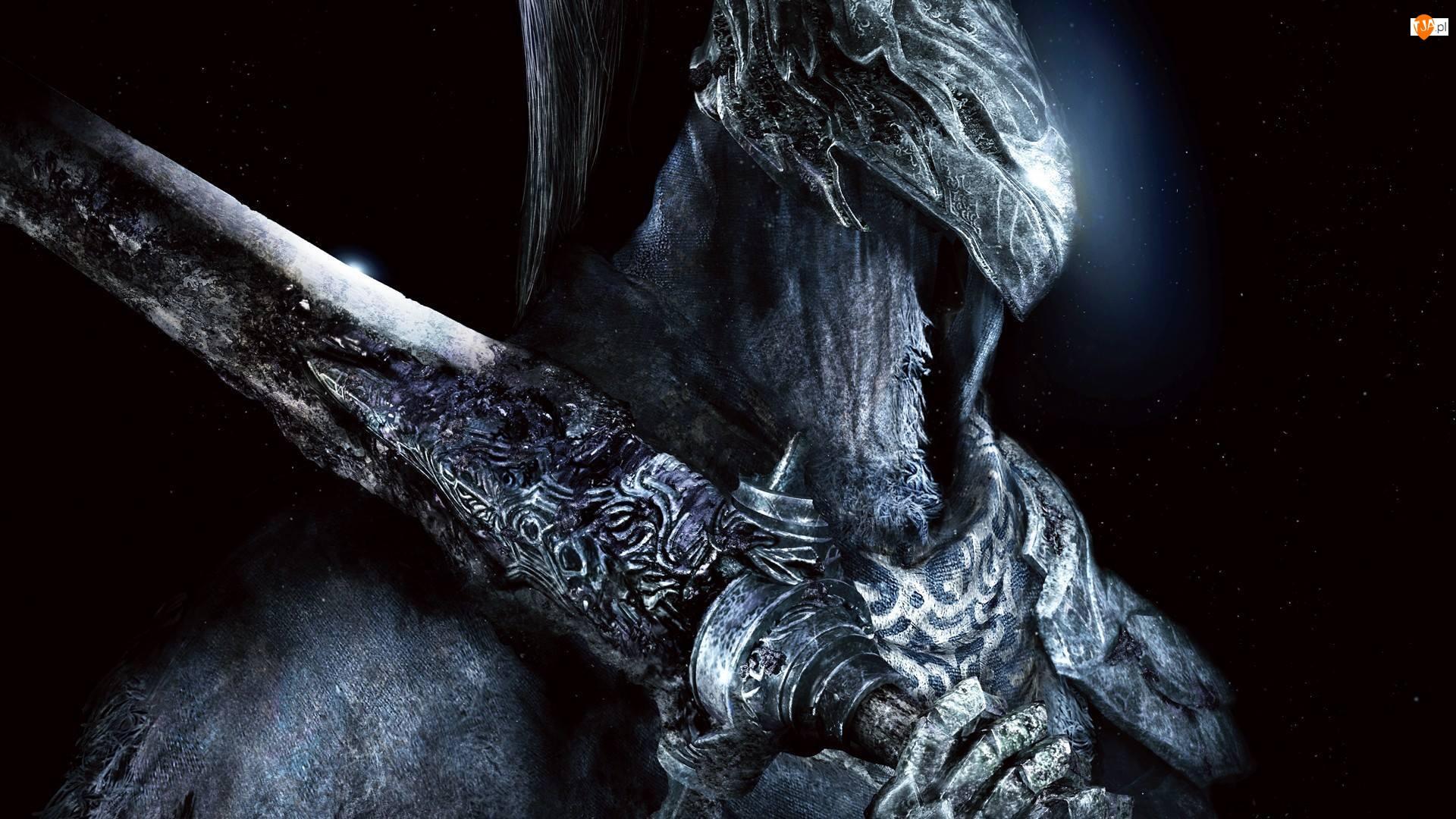 Rycerz, Zbroja, Dark Souls: Prepare to Die Edition, Gra, Mrok