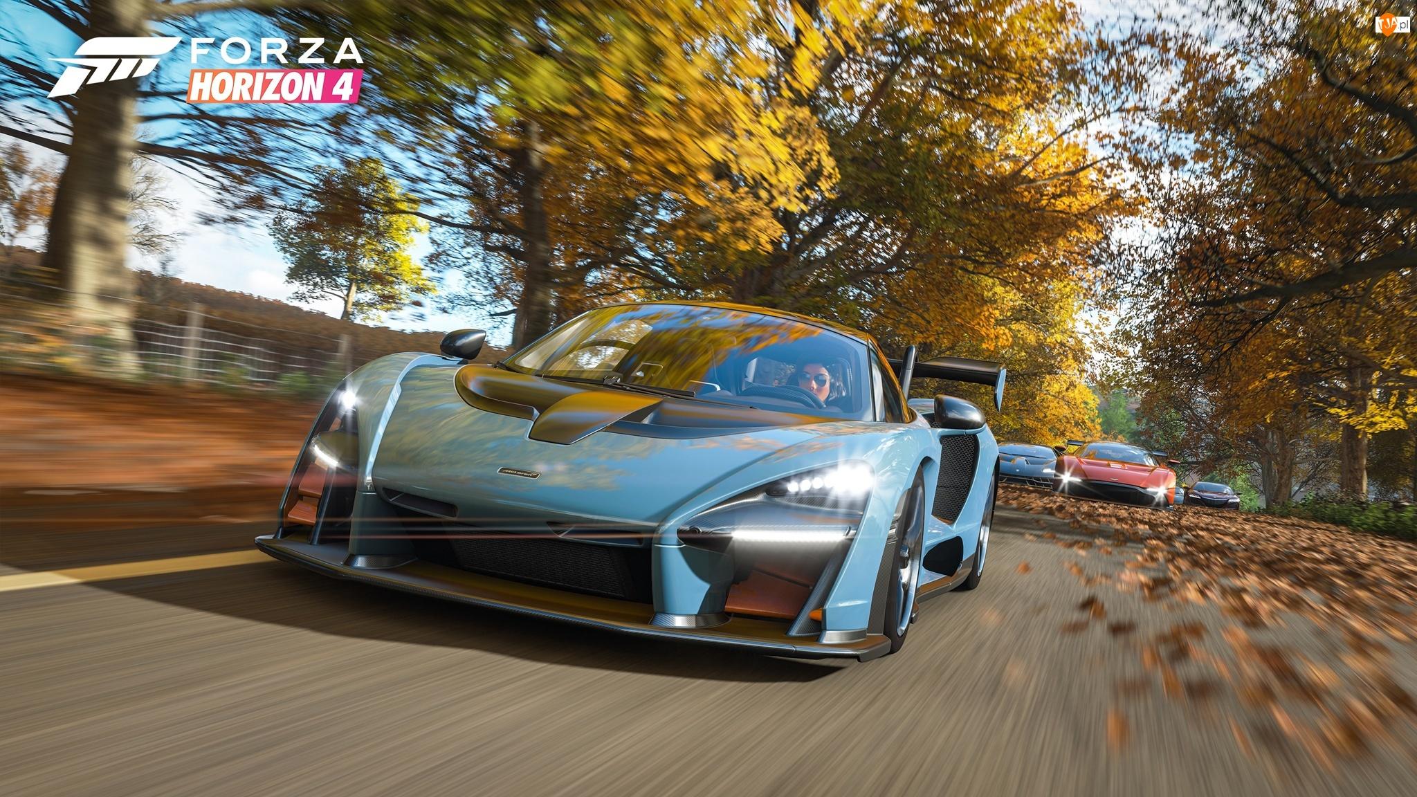 Wyścig, Forza Horizon 4, Samochody, Droga