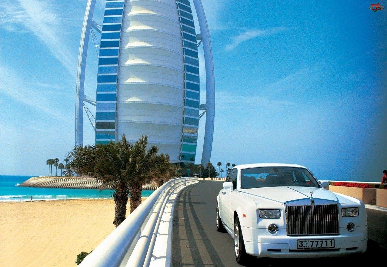 Burj Al Arab, Rolls-Royce Phantom, Dubaj