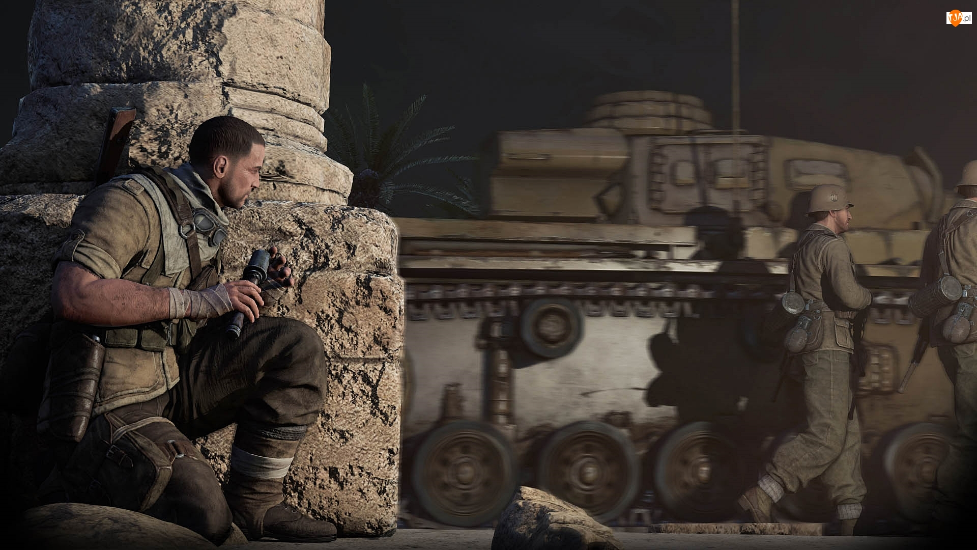 Karl Fairburne, Gra, Sniper Elite 3: Afrika, Snajper