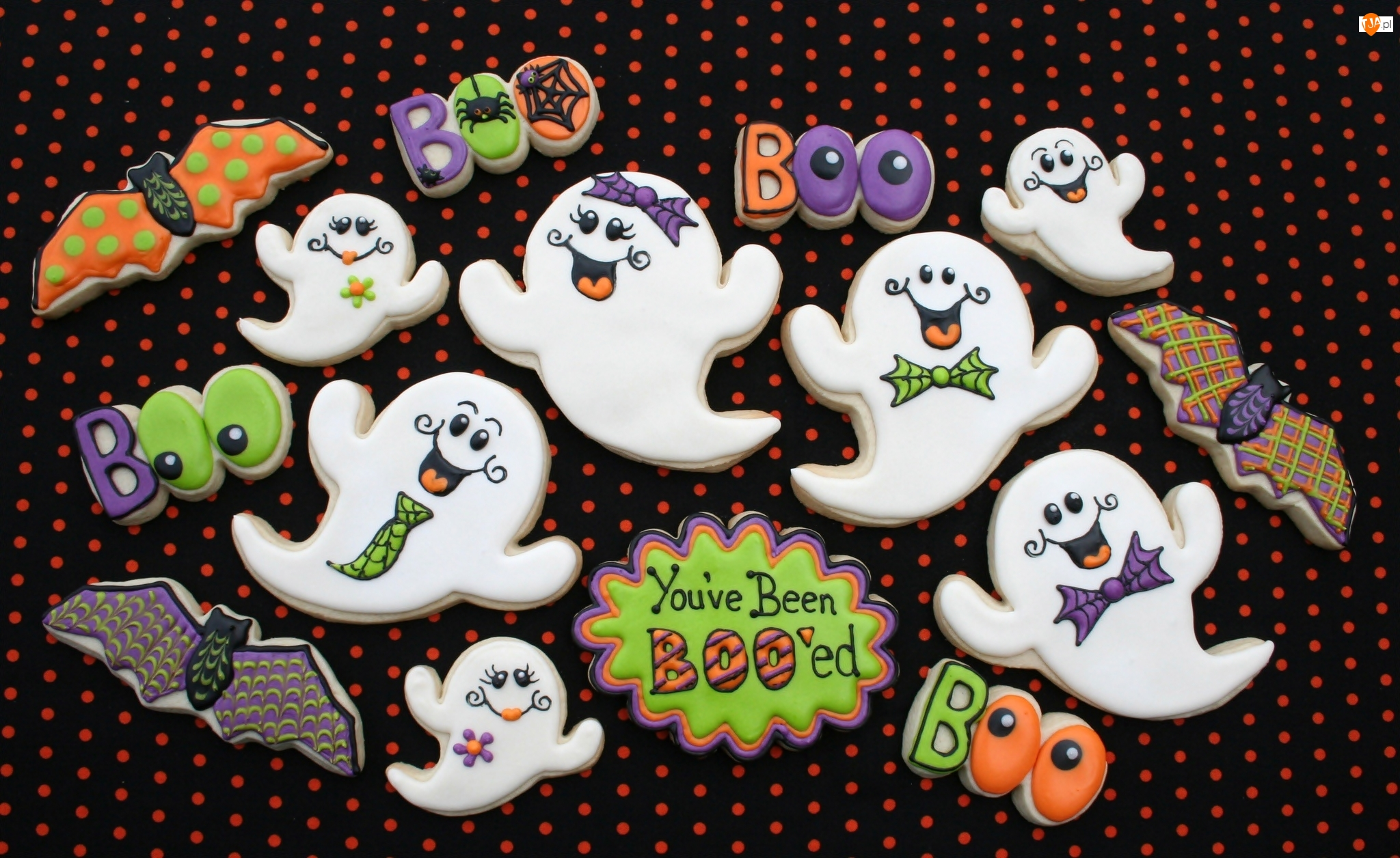 Ciasteczka, Halloween