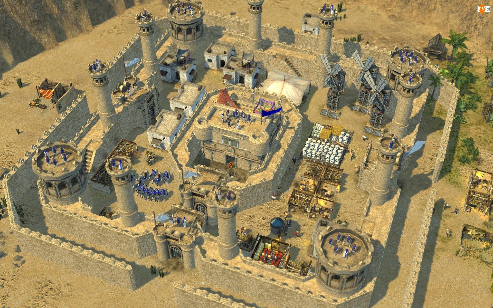 Grafika 3D, Gra, Twierdza : Krzyżowiec 2, Forteca