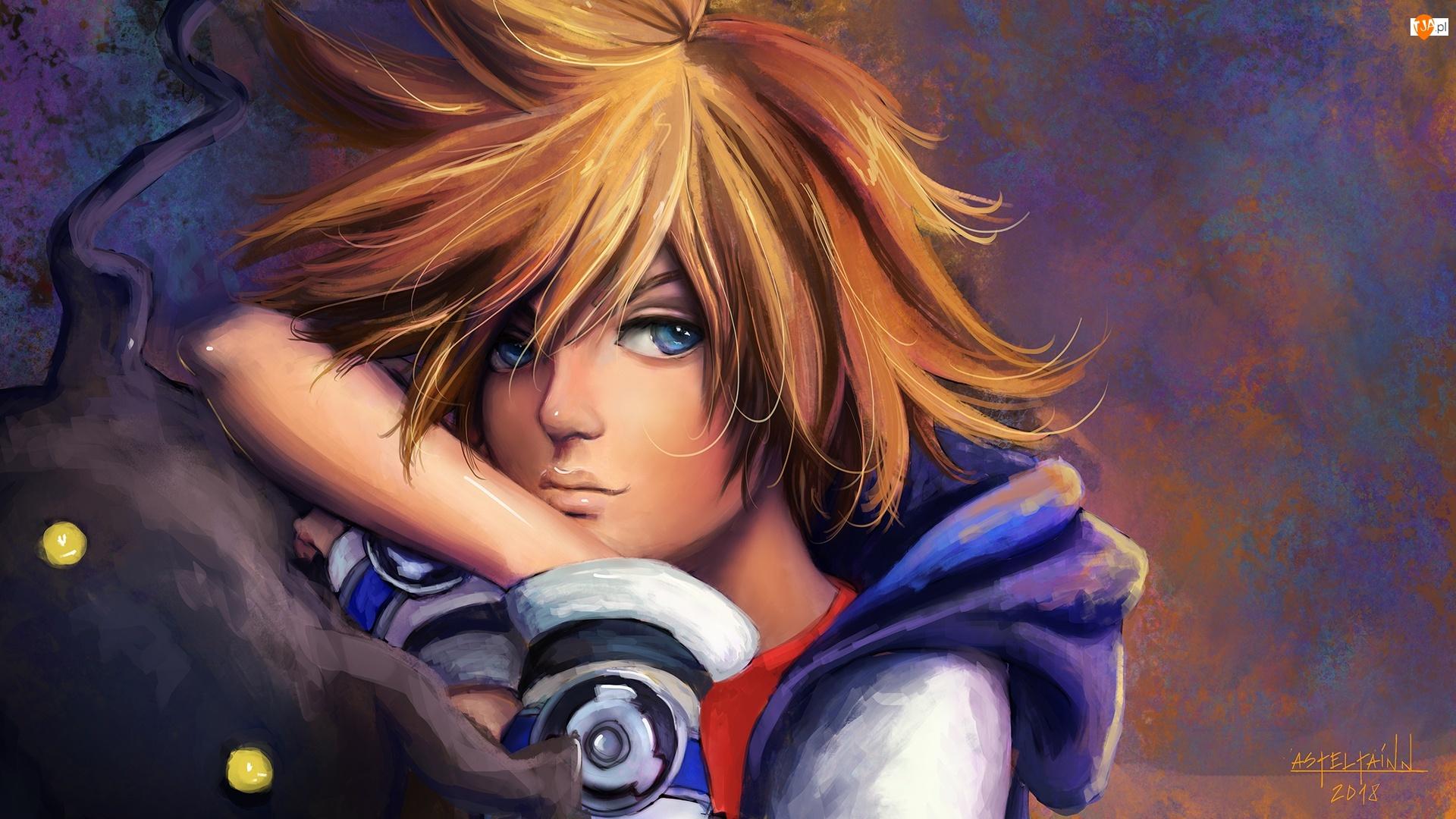 Kingdom Hearts, Postać, Sora, Gra