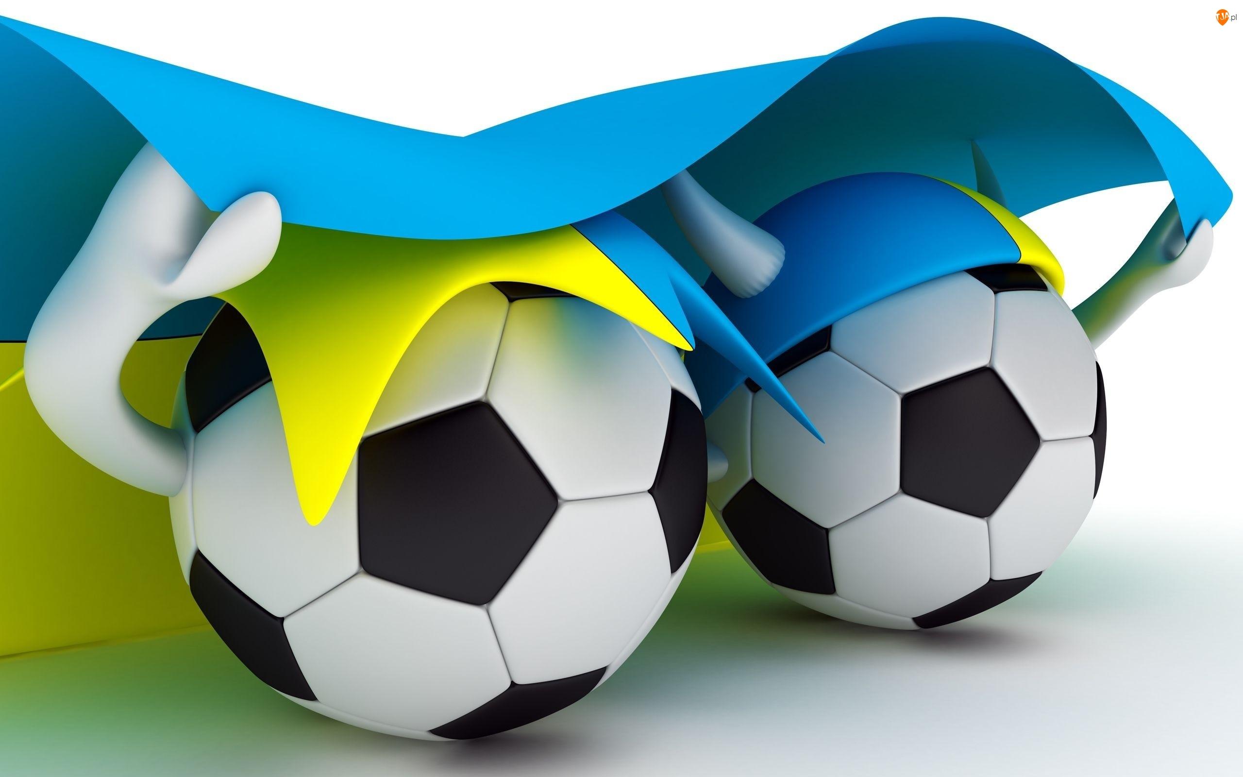 Euro 2012, Piłki