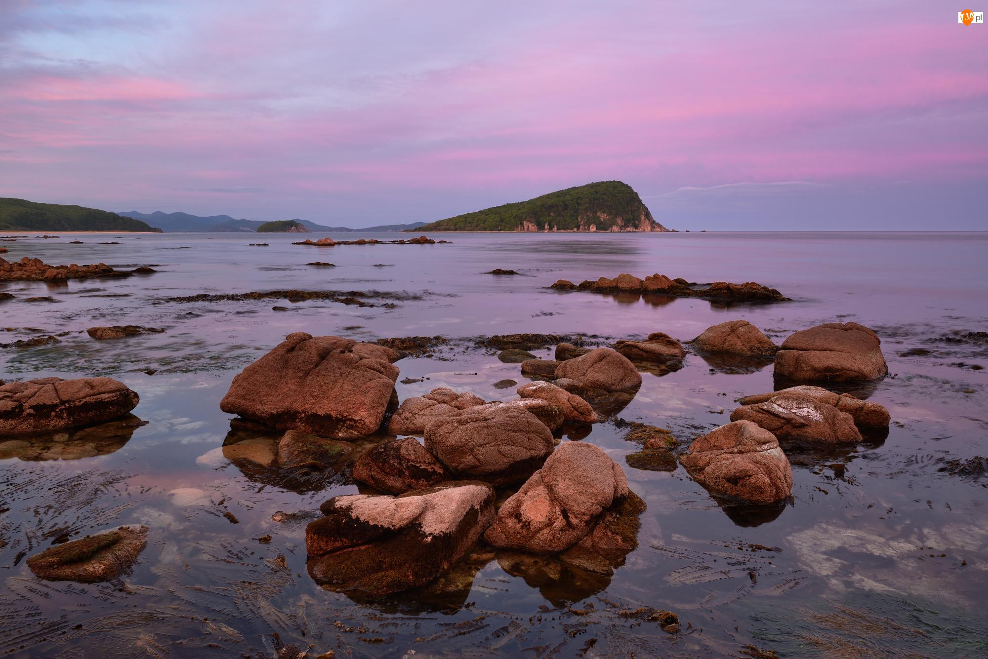 Góra, Kamienie, Rosja, Morze Japońskie, Kraj Nadmorski, Lazovsky Nature Reserve, Rezerwat
