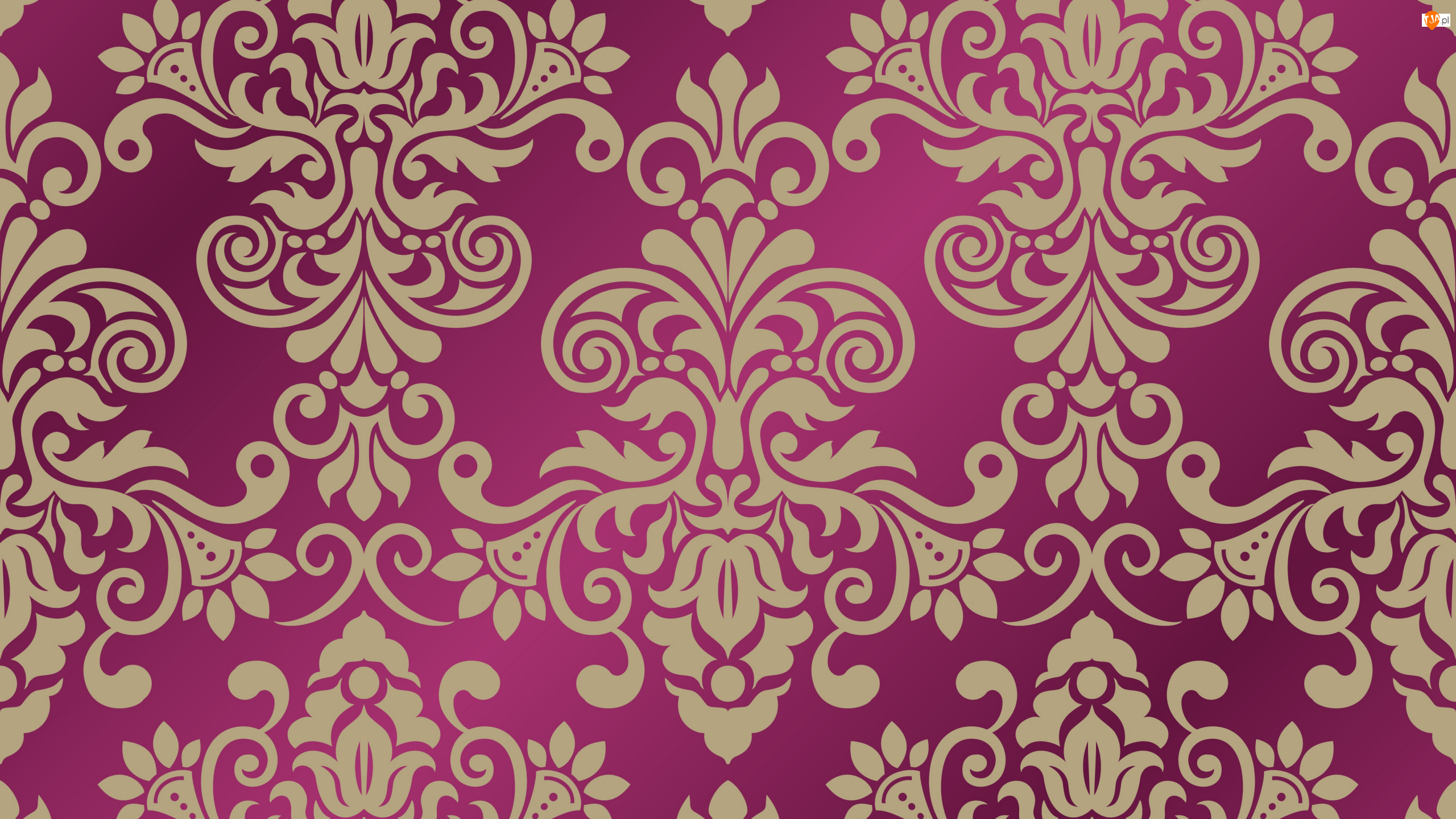 Bordowe tło, Wzór, Ornament, Tekstura