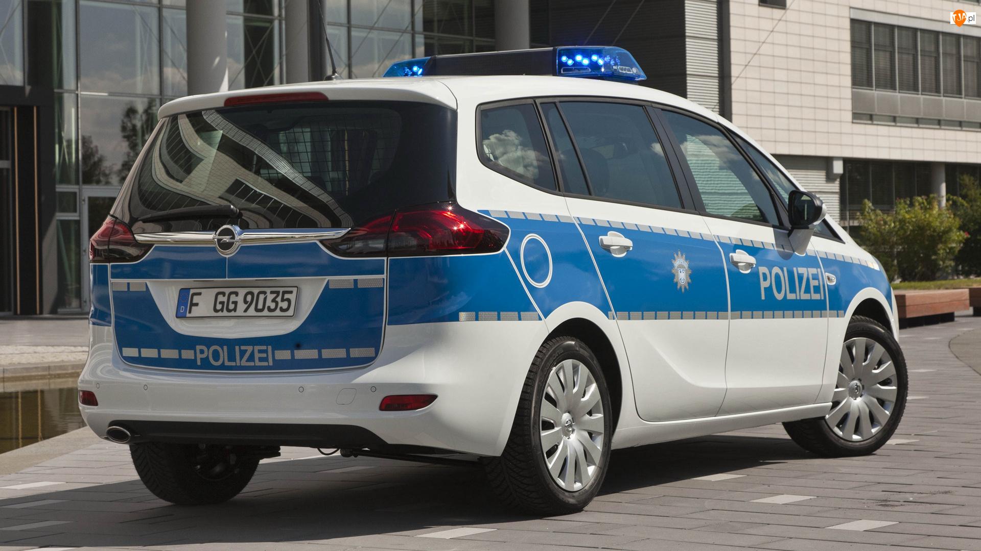 Policyjny, Opel Zafira
