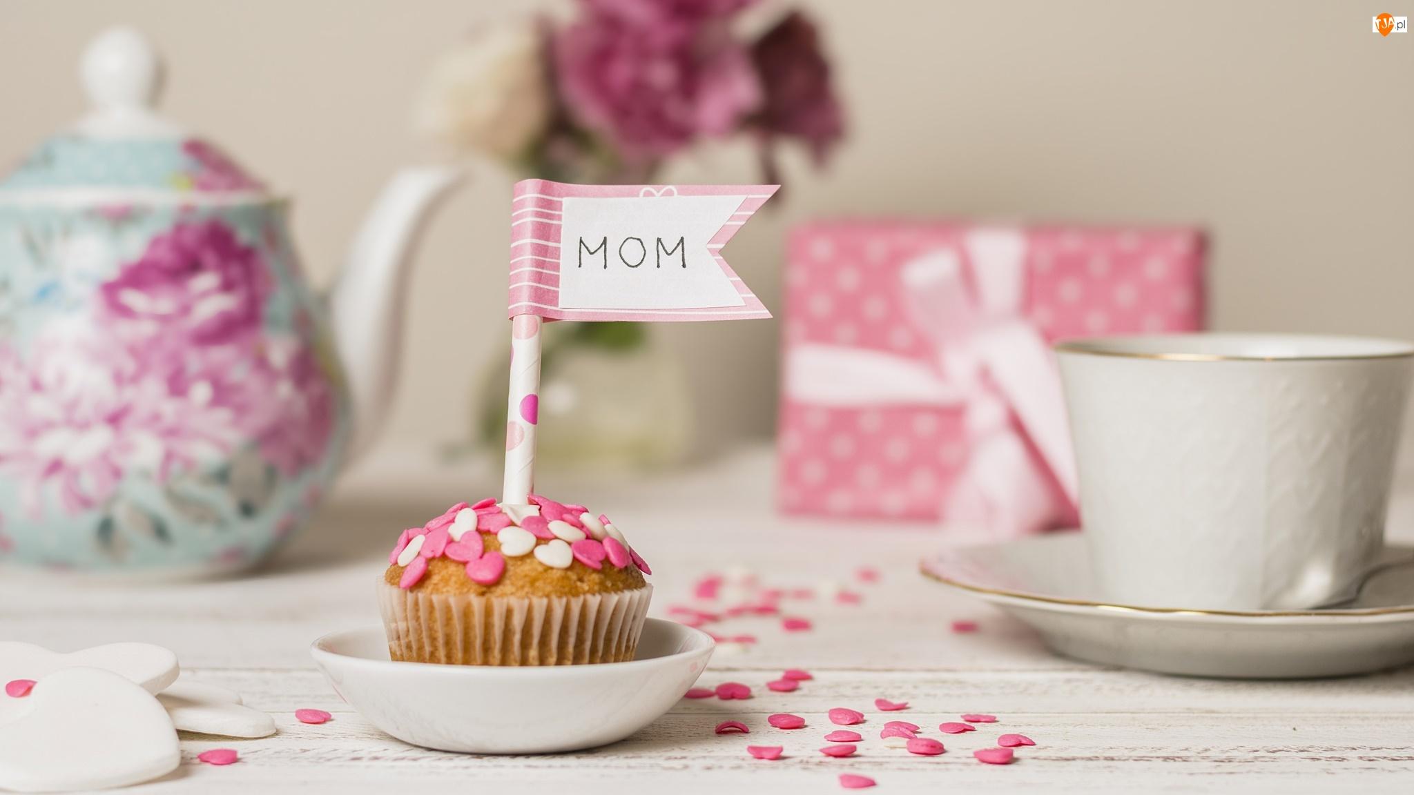 Filiżanka, Dzień Matki, Babeczka