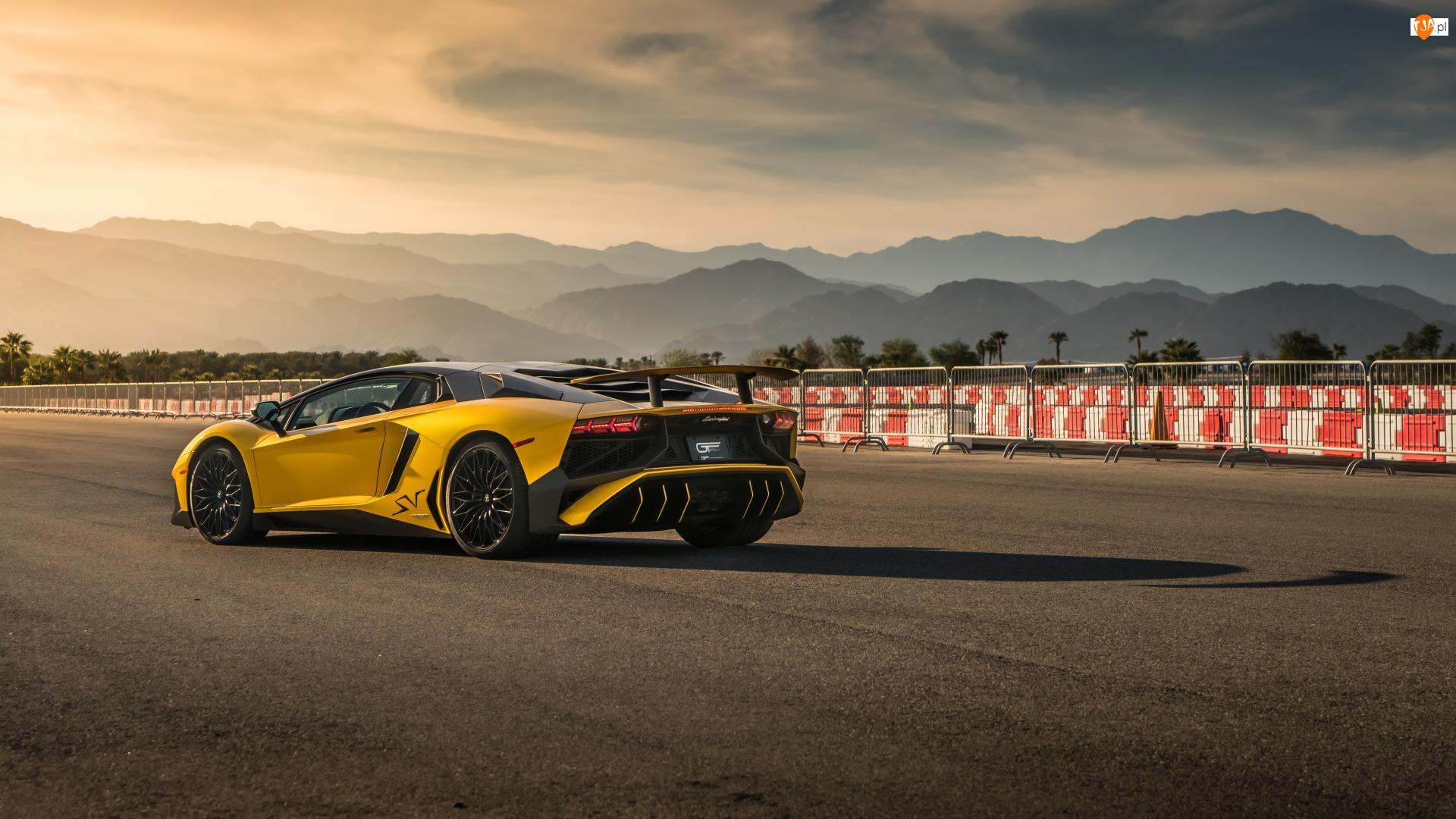Lamborghini Aventador SVJ, Żółte