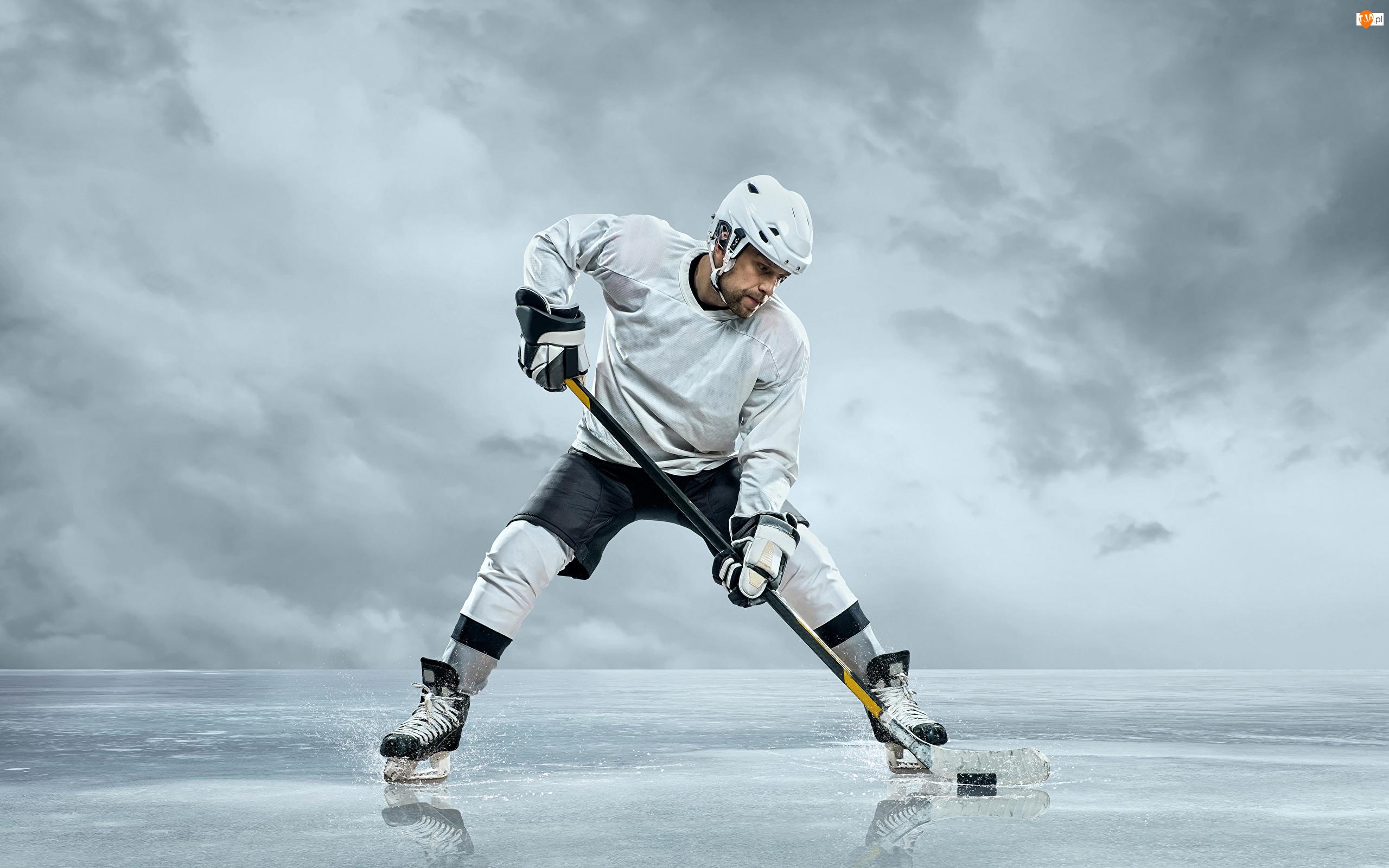 Krążek, Hokej, Hokeista, Kij