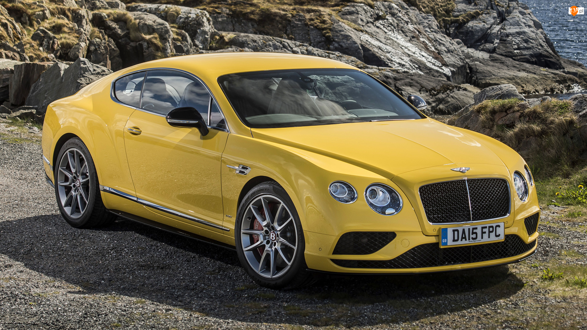 Bentley Continental GT, Żółty