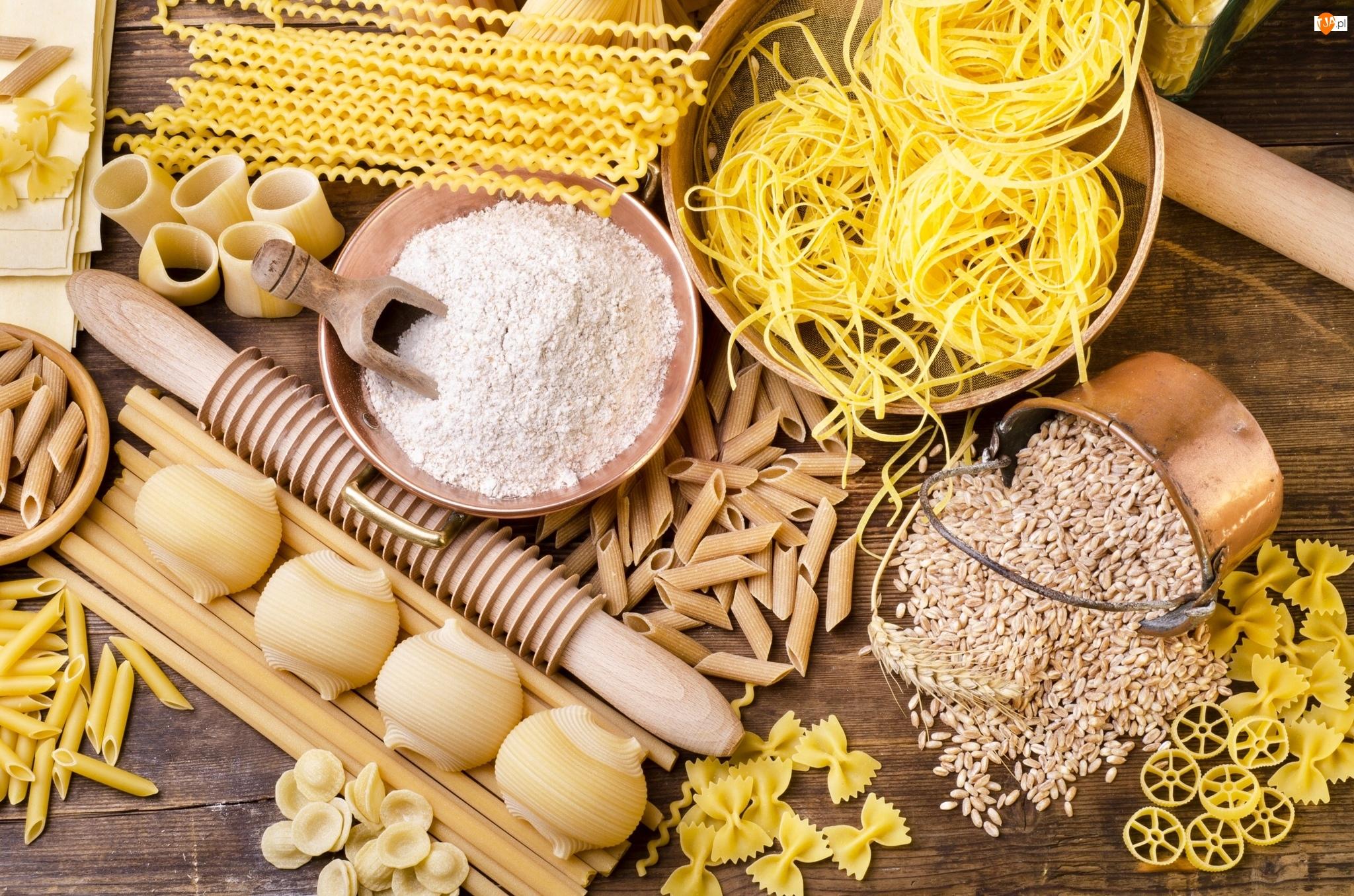 Mąka, Makarony, Ziarna, Zboże