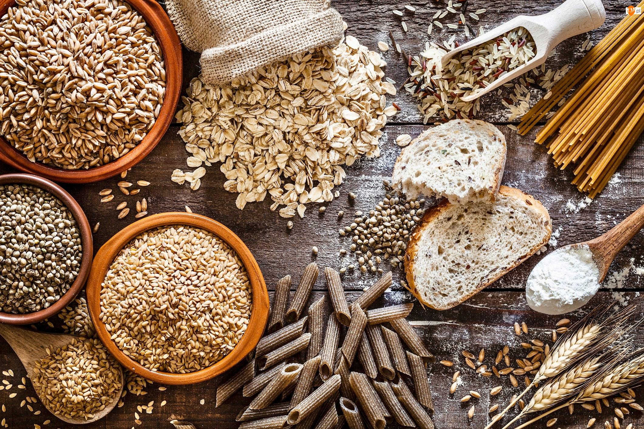Chleb, Ziarna, Makaron, Deski, Mąka, Kłosy