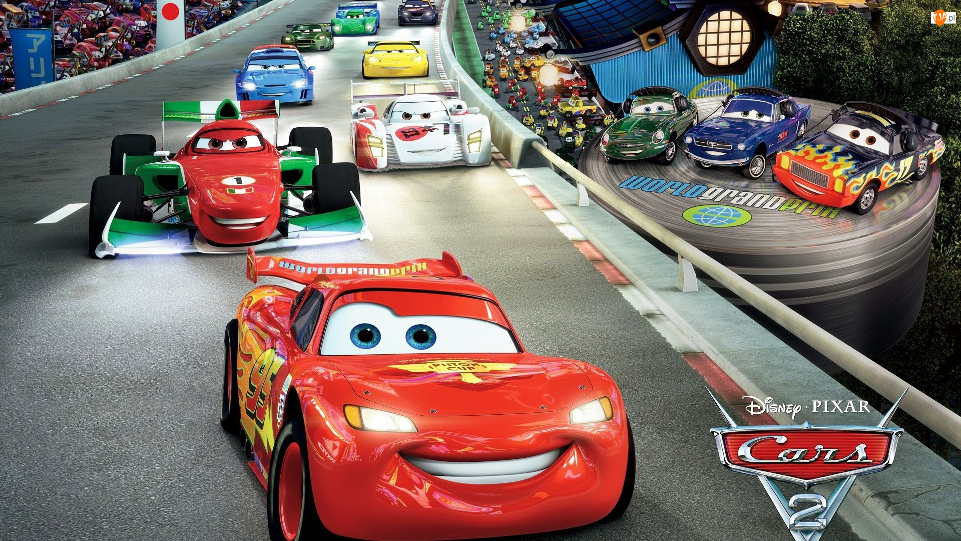 Film animowany, Cars 2, Auta 2