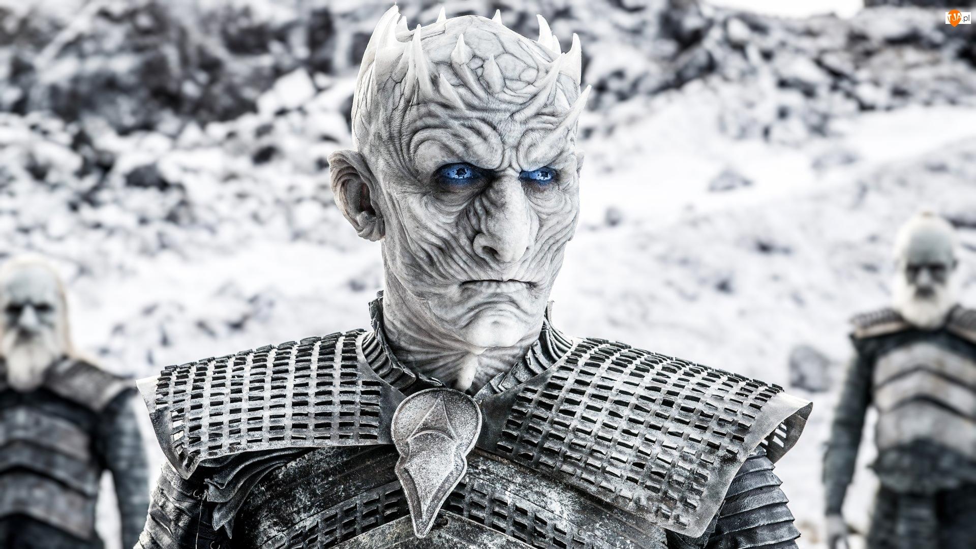 Gra o Tron, Serial, Nocny Król, Innych, Game of Thrones, Dowódca