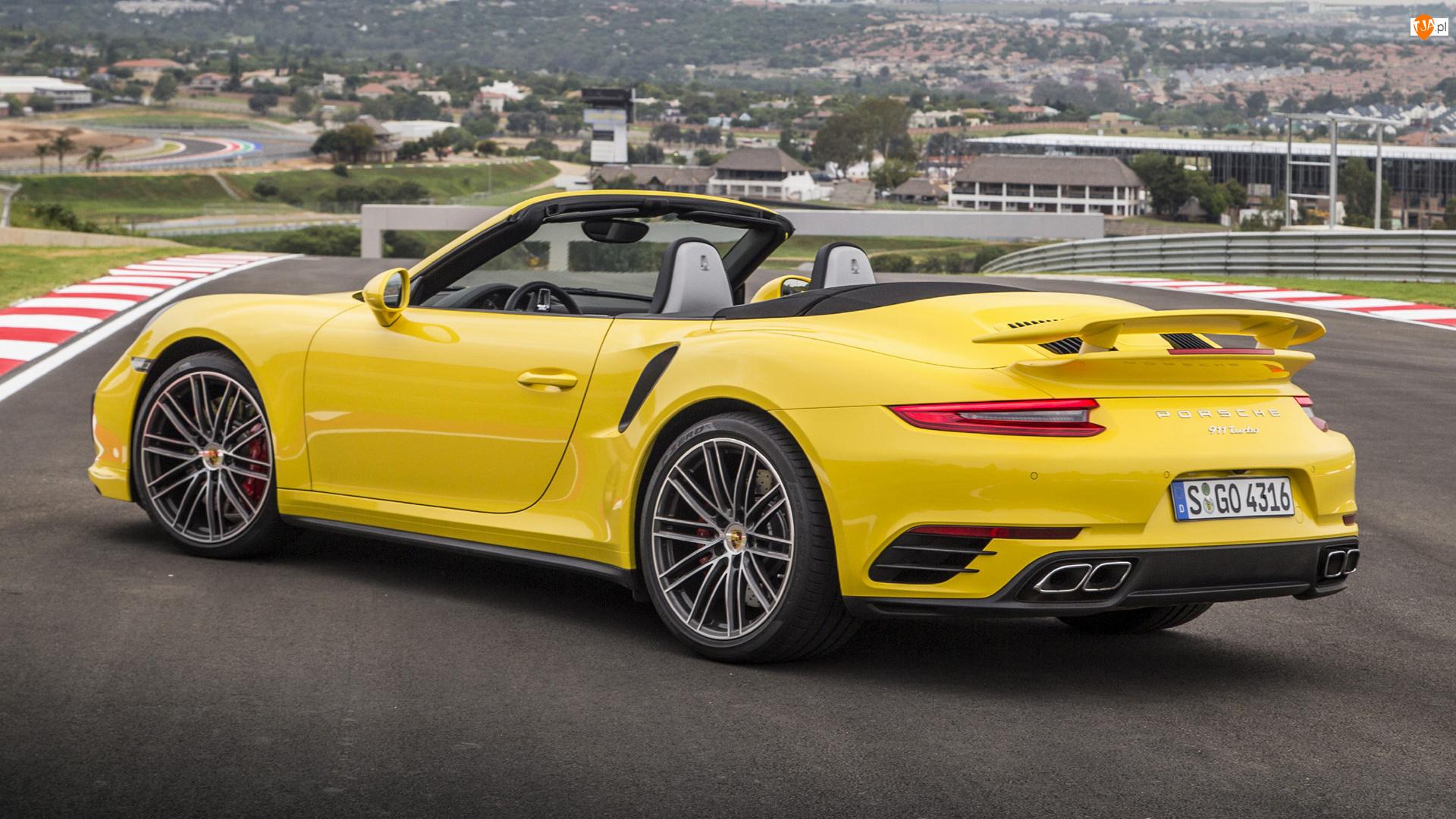 Cabrio, Porsche 911 Turbo