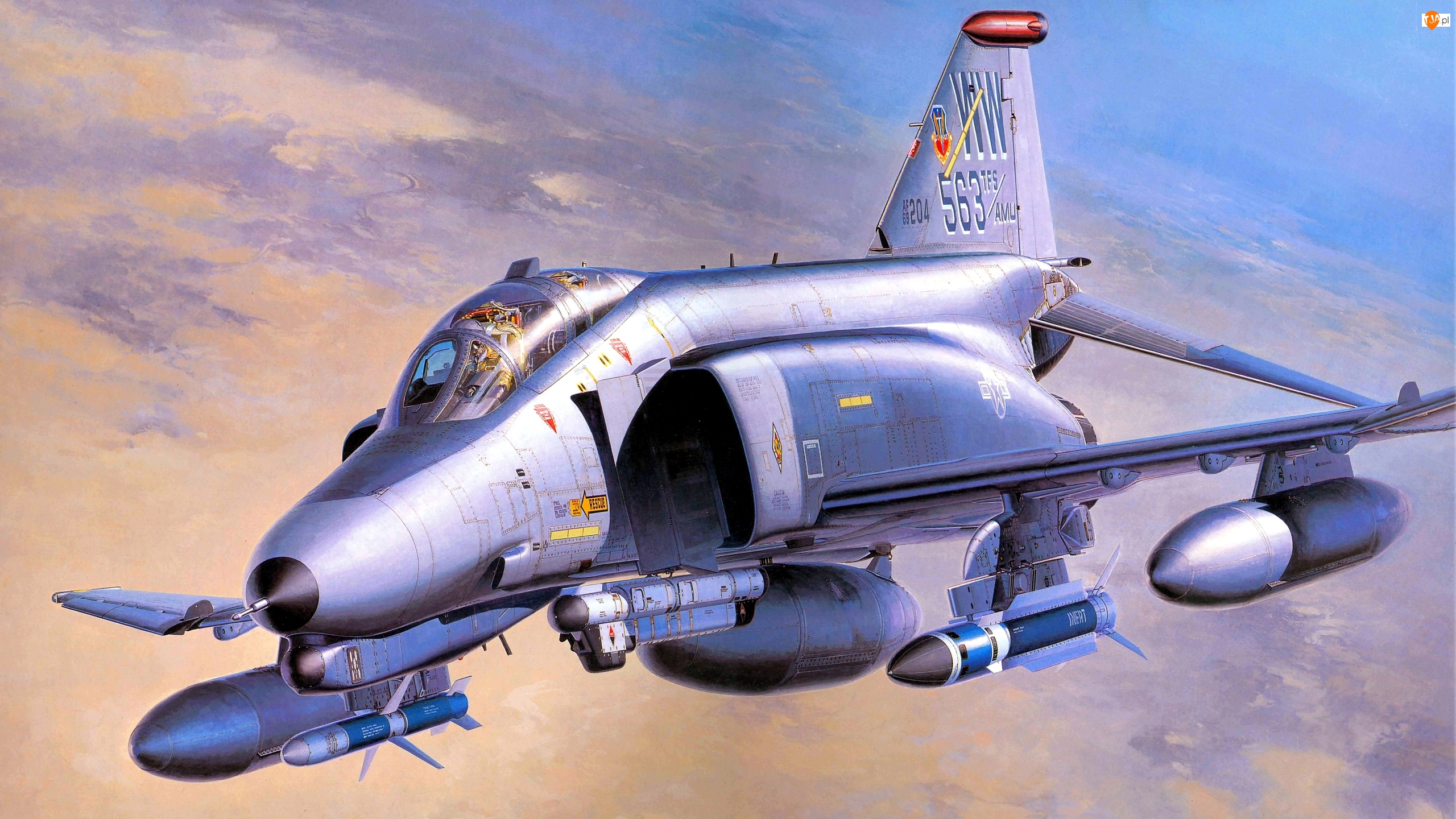 Wild Weasel, Samolot, McDonnell Douglas F-4G Phantom II