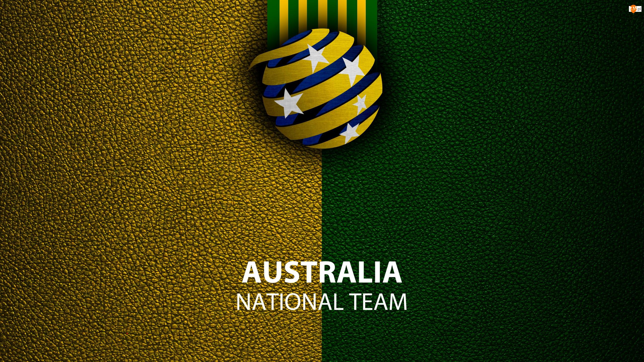 Socceroos, Piłka nożna, Reprezentacja Narodowa, Logo, Australia
