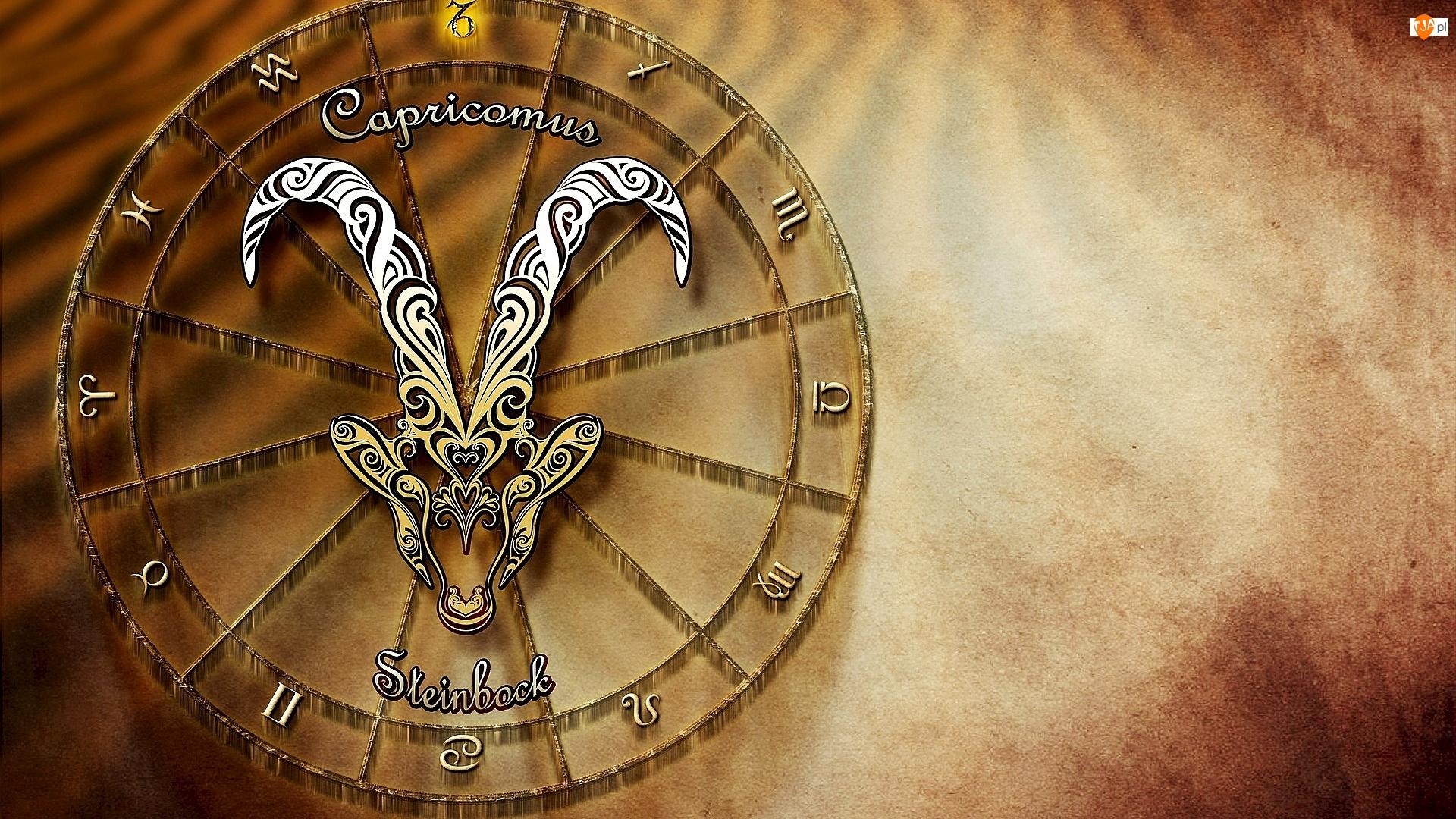 Grafika, Znak zodiaku, Koziorożec
