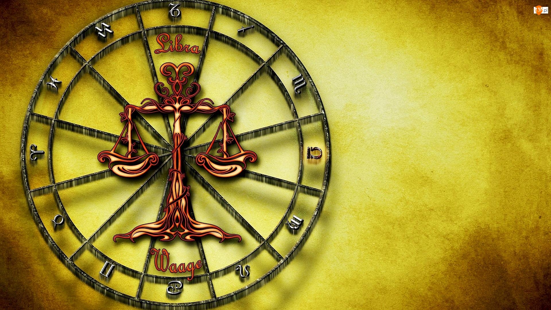 Grafika, Znak zodiaku, Waga