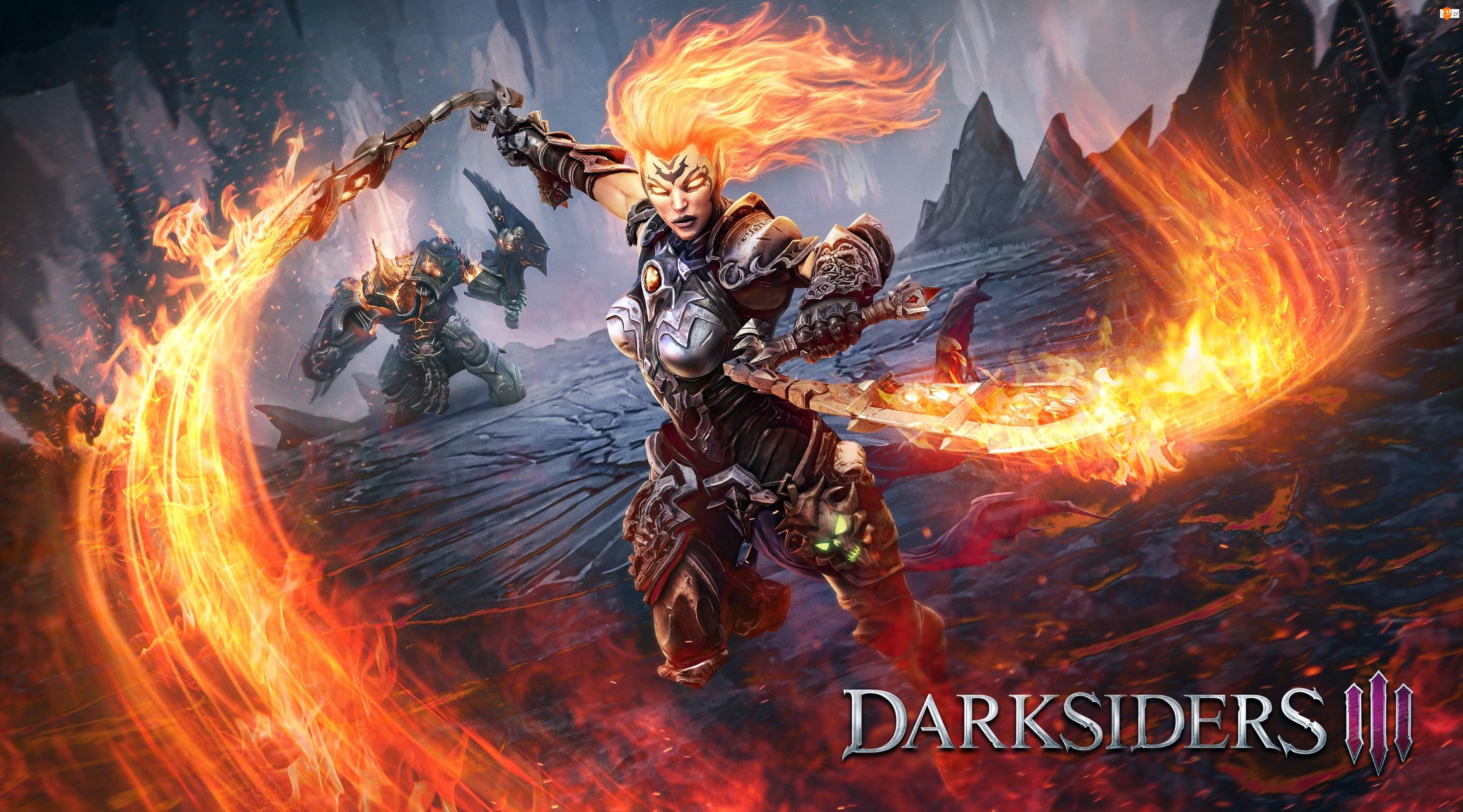Darksiders 3, Gra, Furia, Jeździec Apokalipsy, Postać, Fury