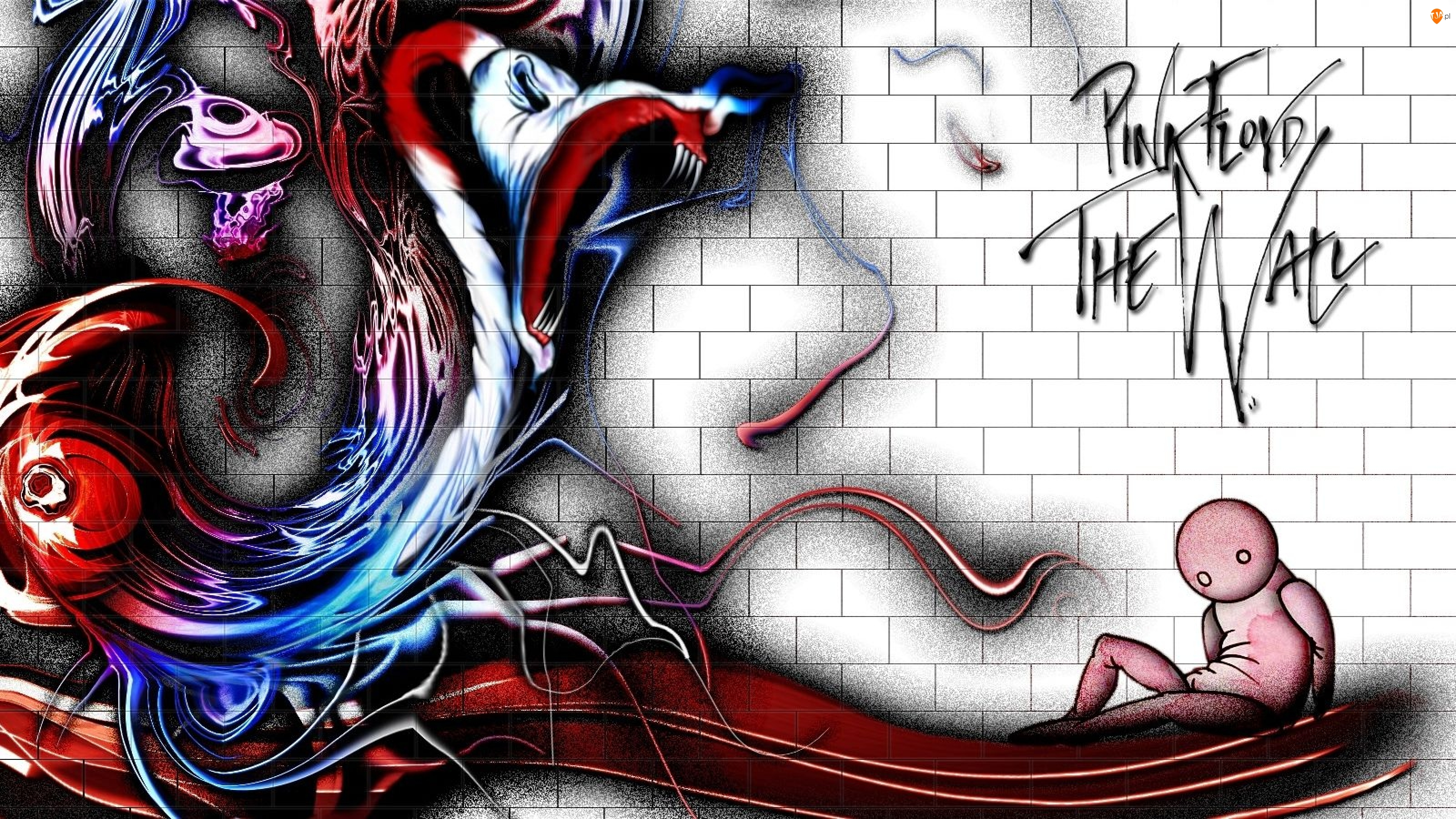 Grafika, Pink Floyd, The Wall
