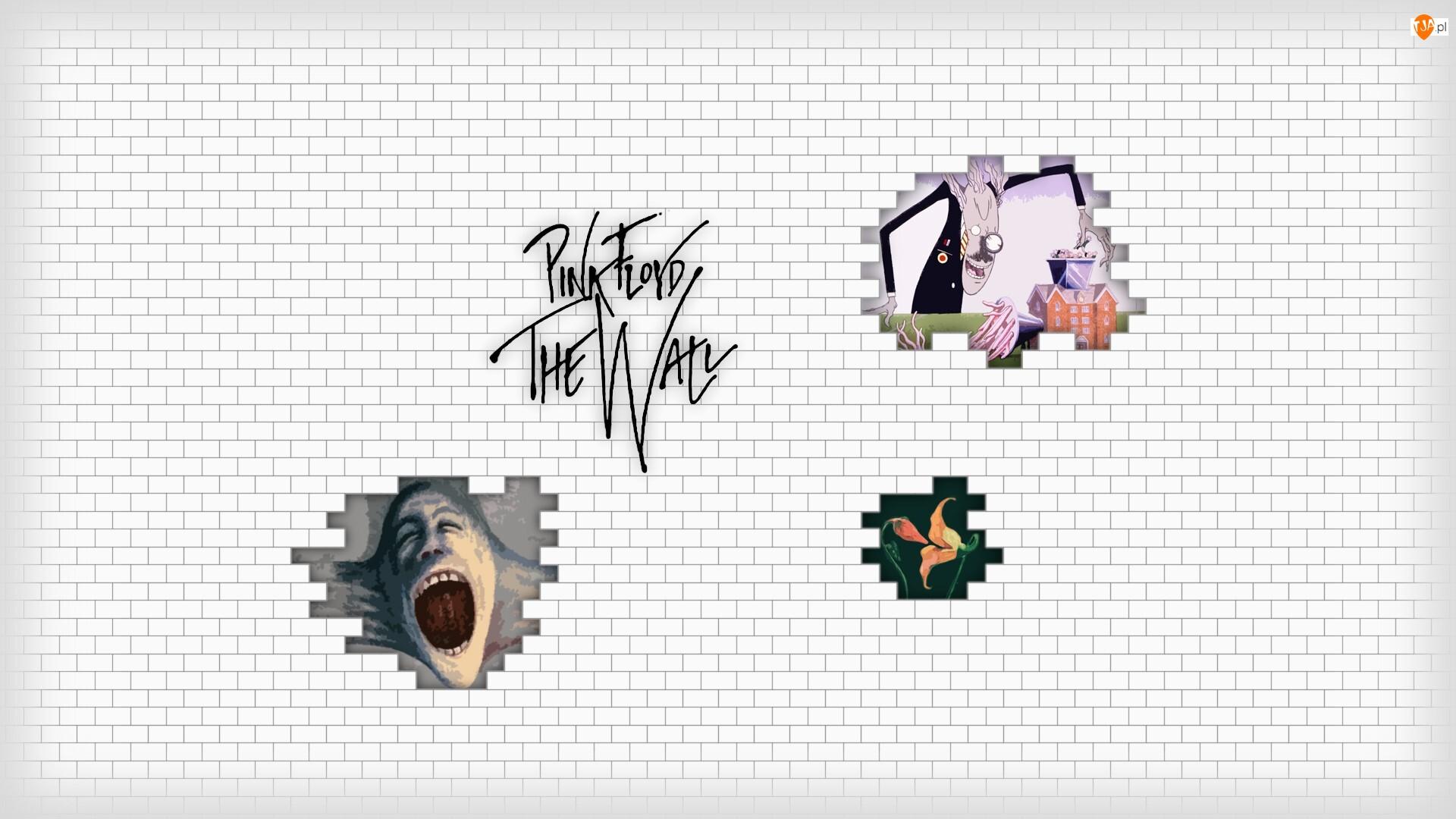 Inspiracja, Grafika, The Wall, Pink Floyd, Płyta