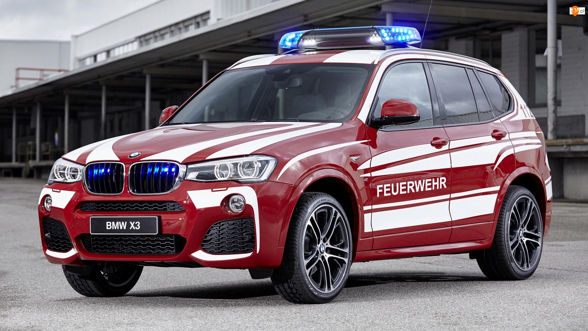 Straż pożarna, Czerwone, BMW X3