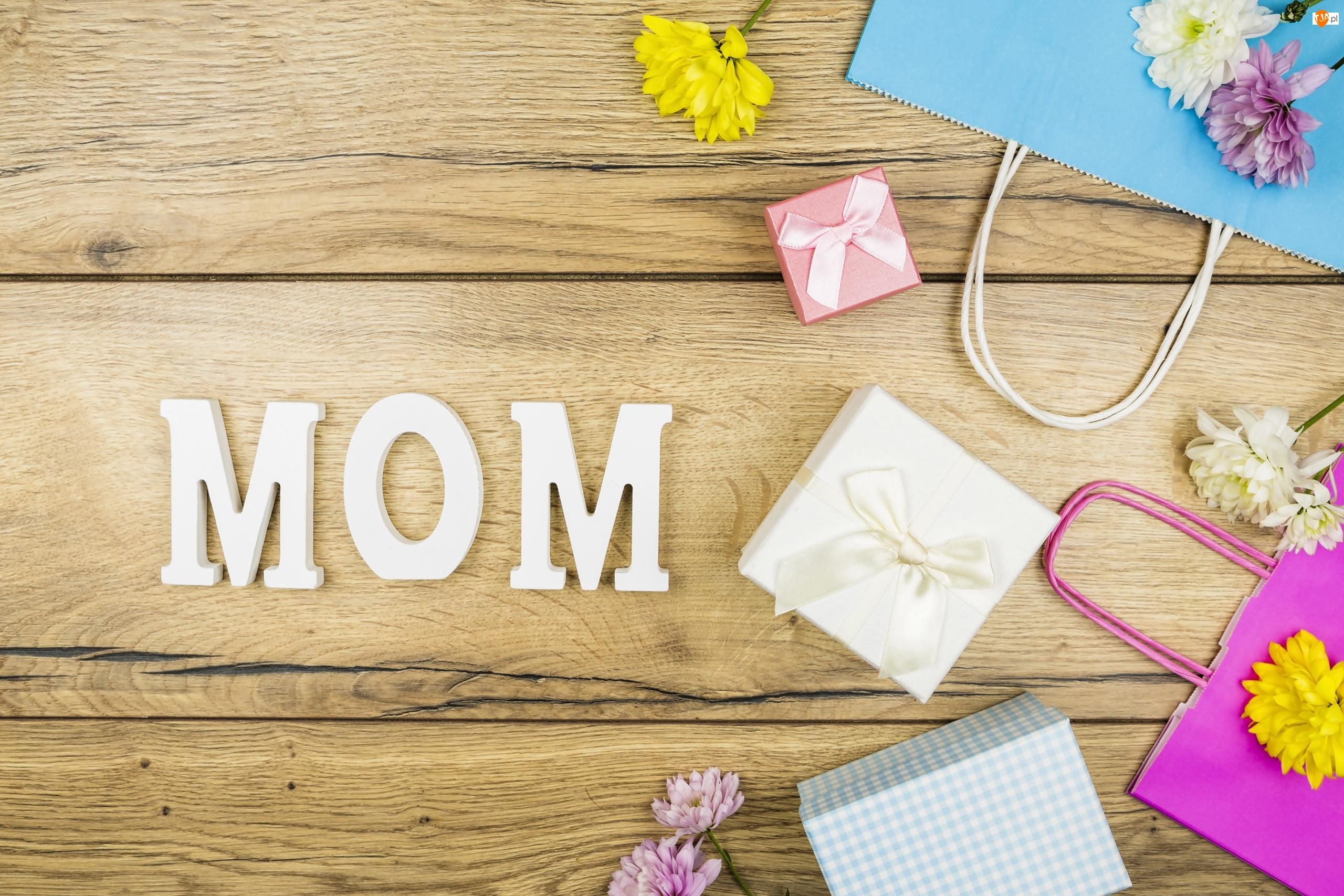 Dzień Matki, Prezenty, Kwiatki