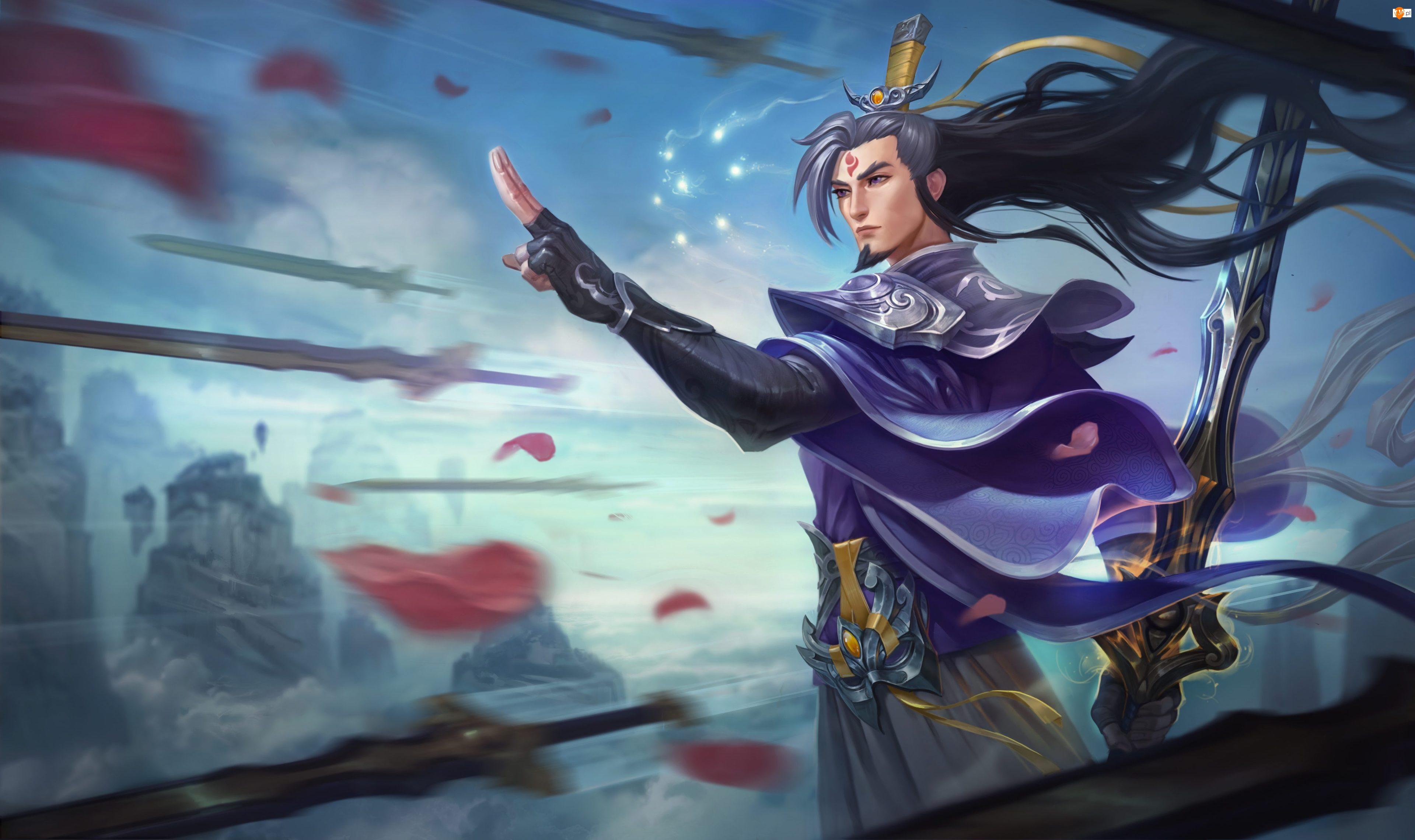 Postać, Szermierz Wuju, League of Legends, Gra, Master Yi