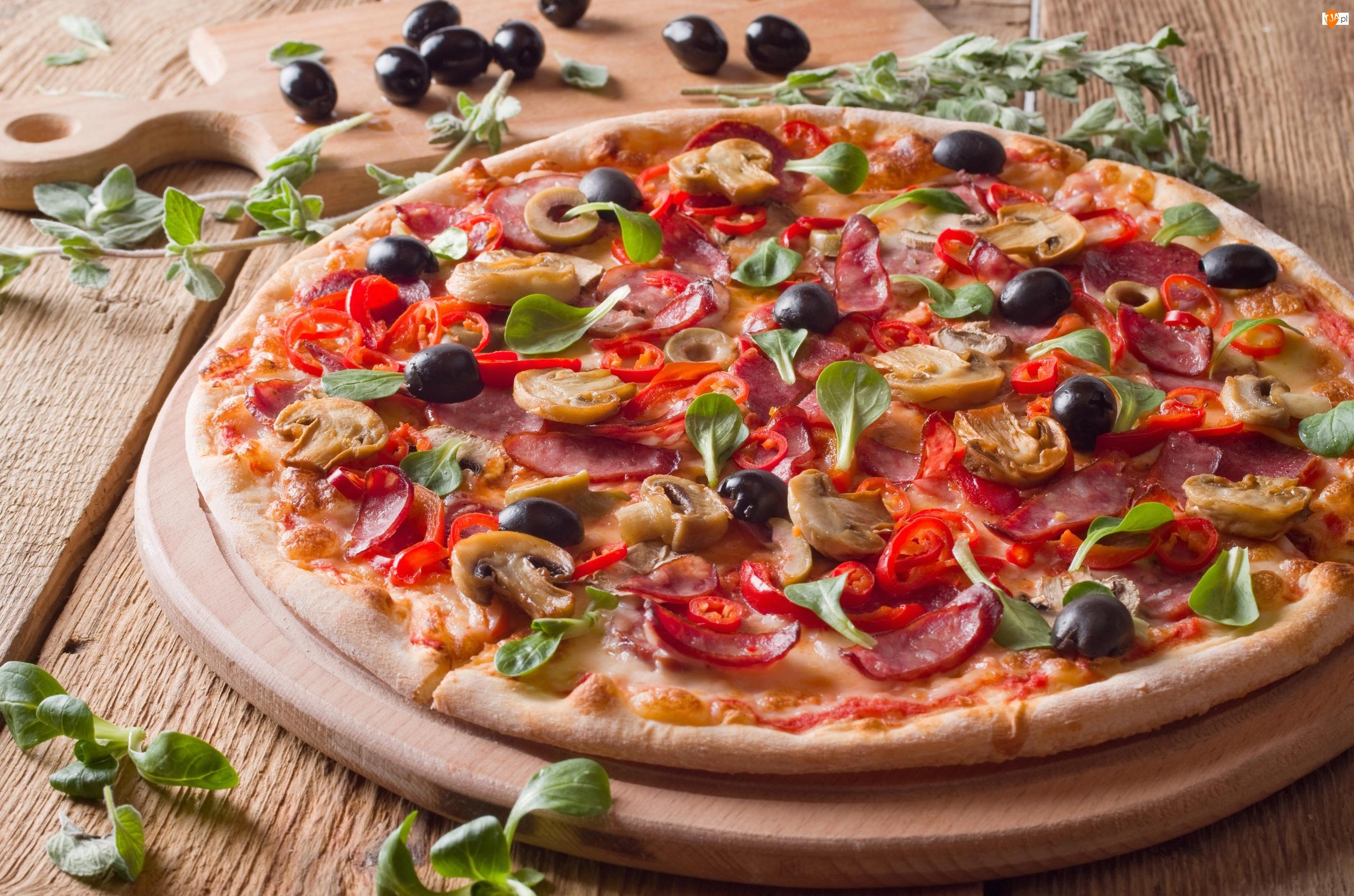 Dodatki, Pizza