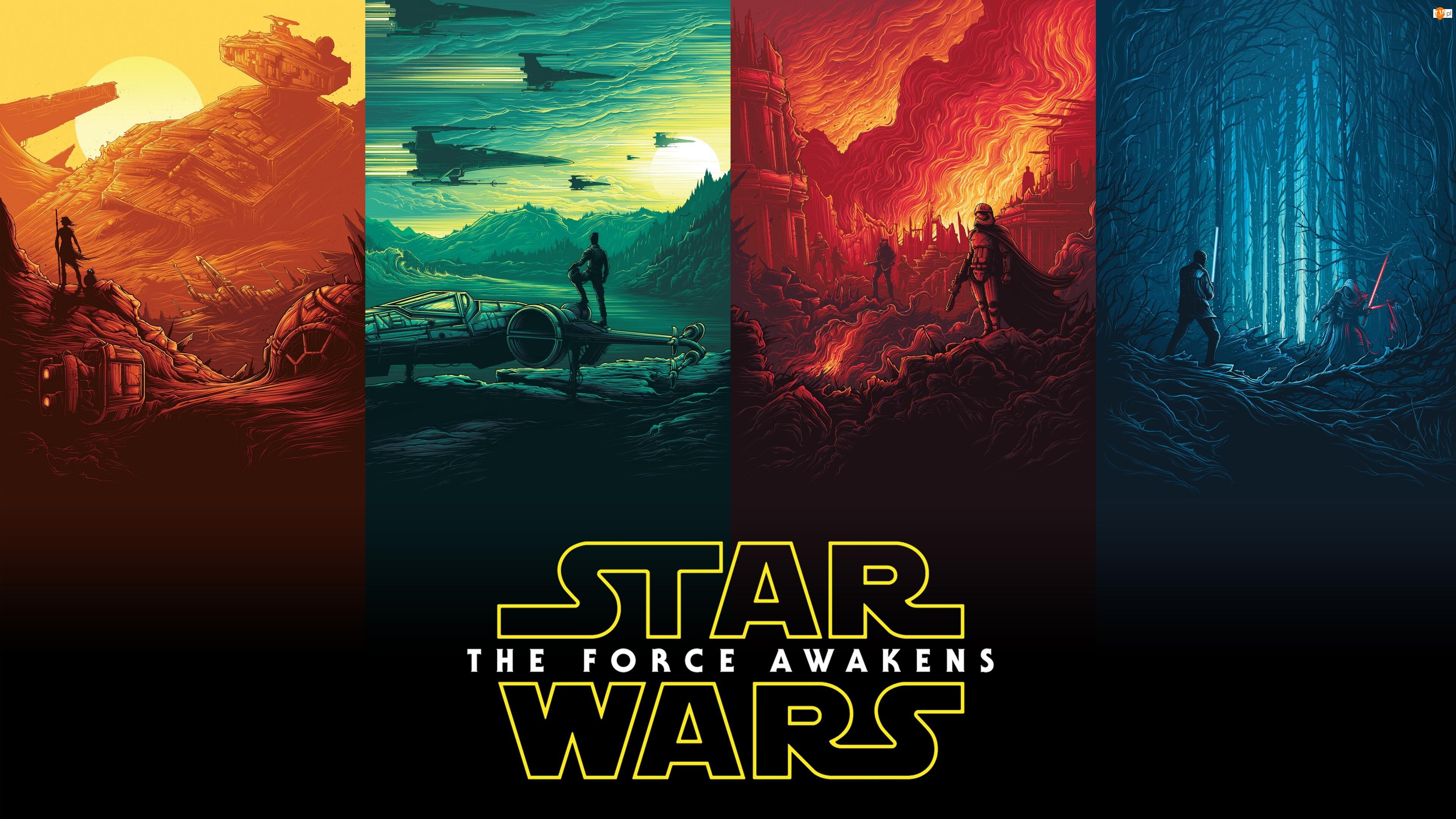 Część 7, Film, Star Wars The Force Awakens, Gwiezdne wojny Przebudzenie Mocy
