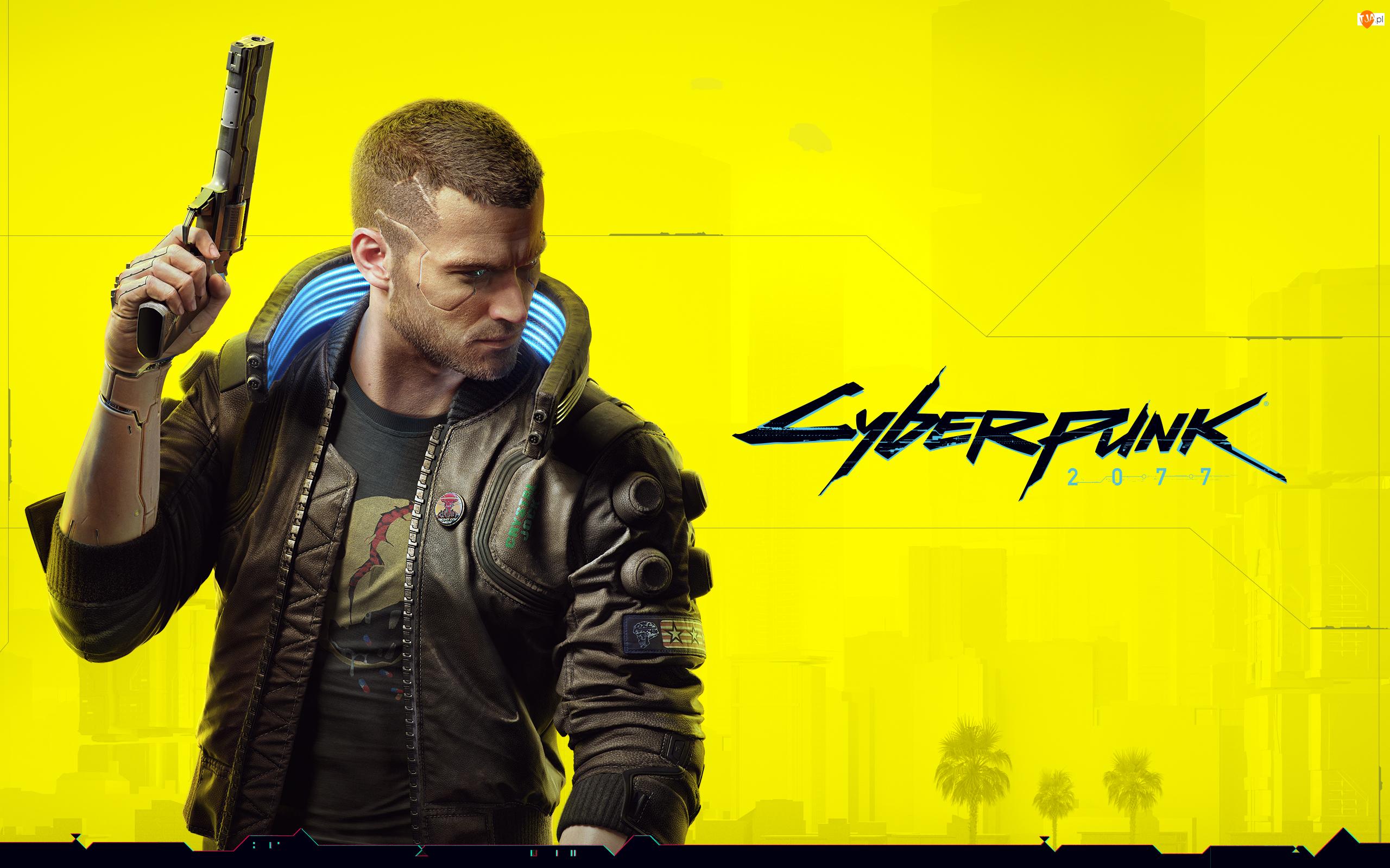 Pistolet, Cyberpunk 2077, Gra wideo, Postać