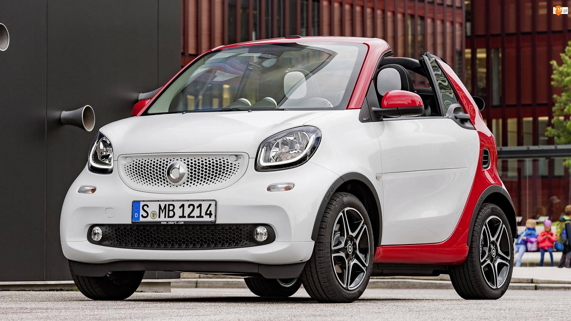 Smart Fortwo Cabrio, Biało-czerwony