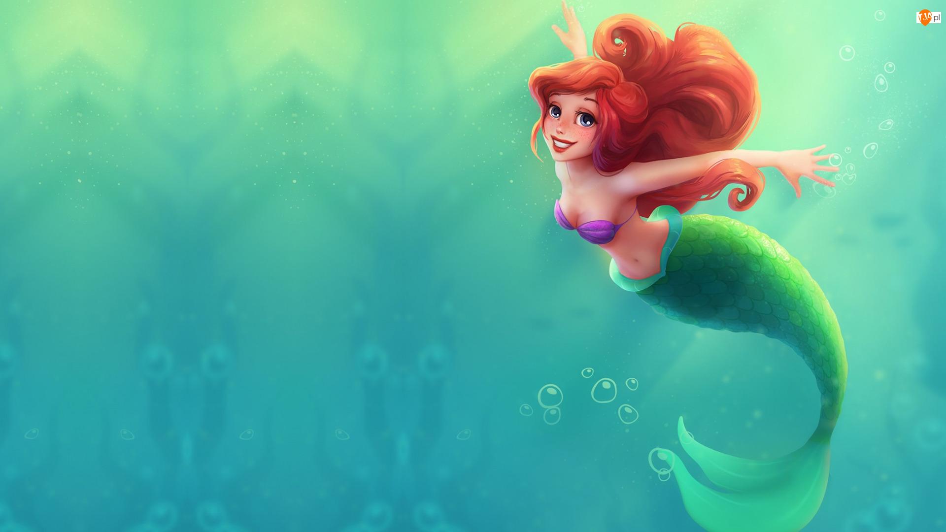 Ariel, Film animowany, Mała Syrenka, The Little Mermaid