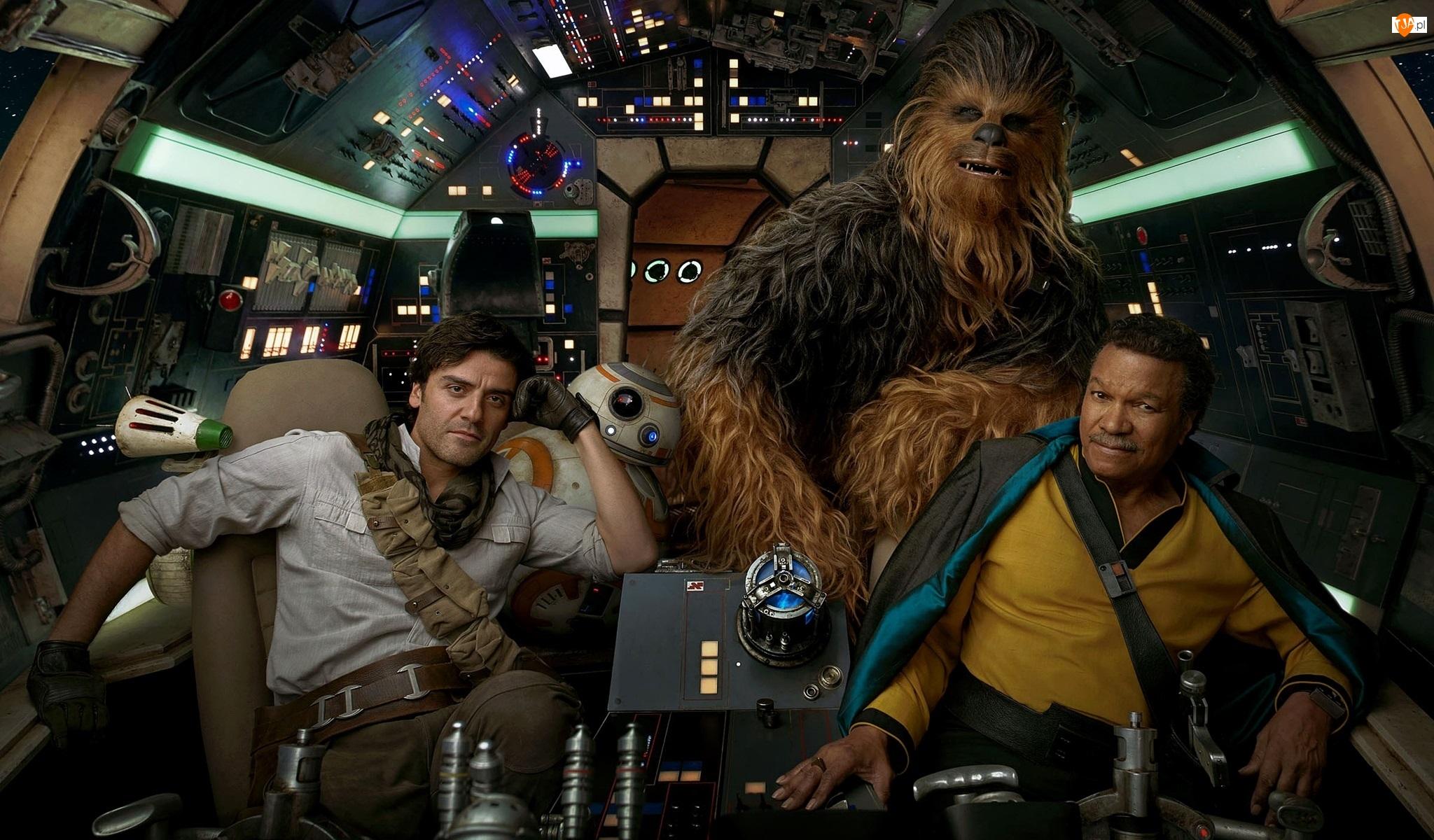 Gwiezdne wojny Skywalker Odrodzenie, Film, Aktor, Billy Dee Williams, Star Wars The Rise of Skywalker, Oscar Isaac