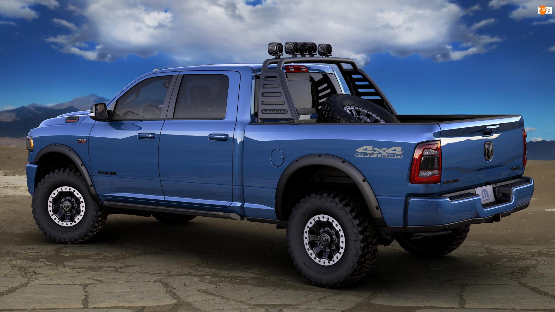 Dodge RAM 2500, Niebieski
