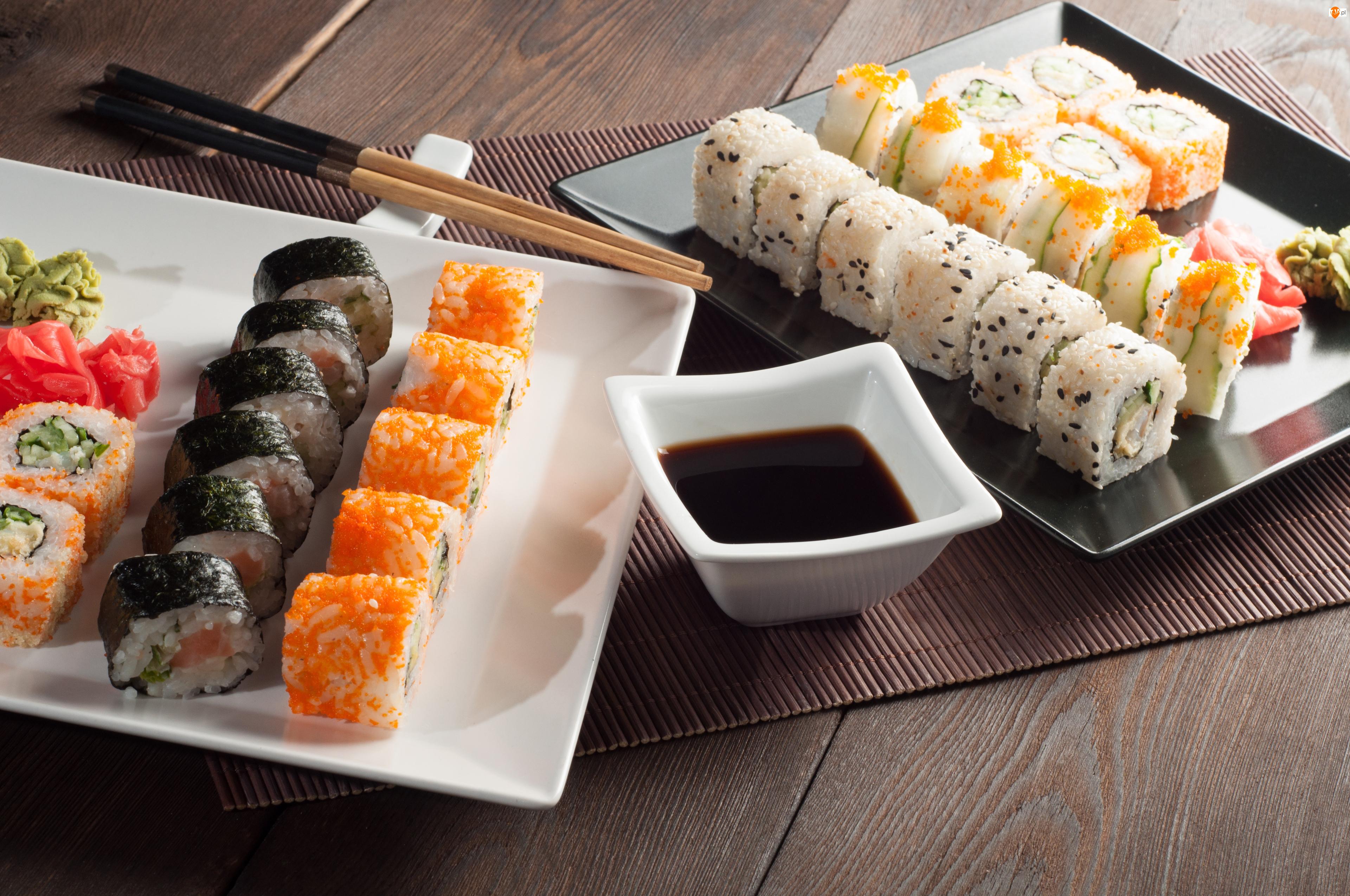 Sos, Sushi, Pałeczki